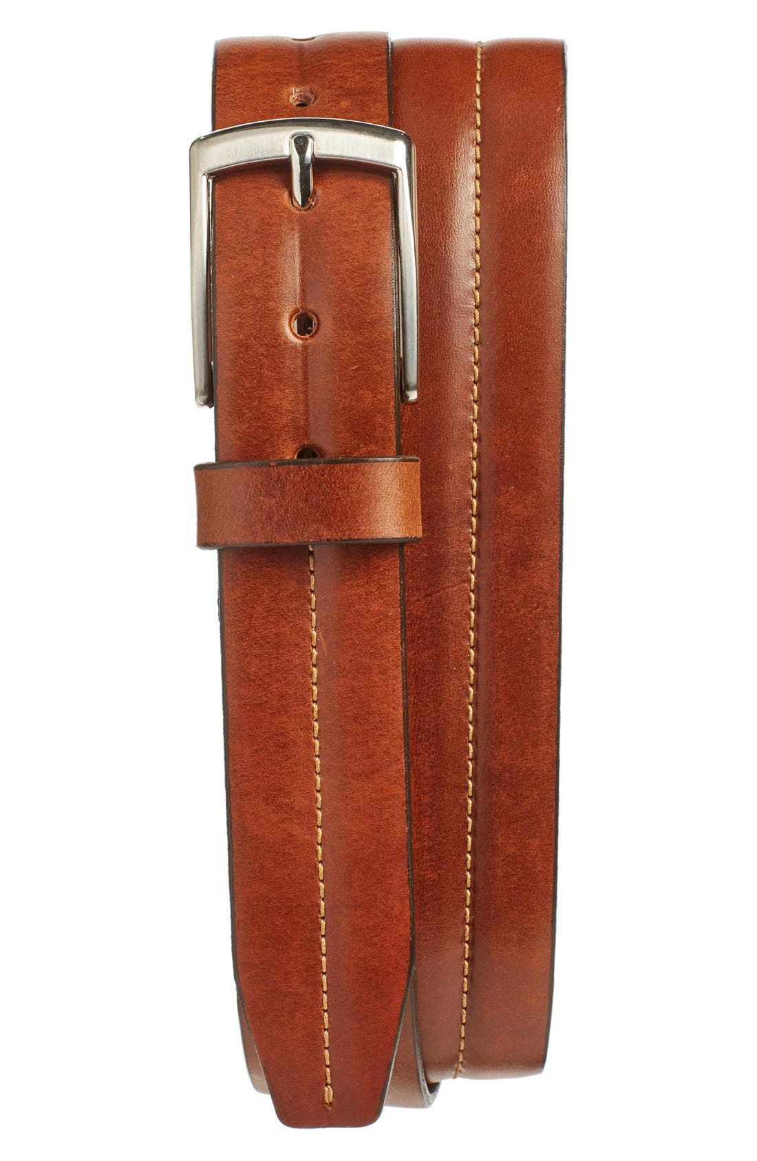 Leather Belt,                             Main thumbnail 1, color,                             240