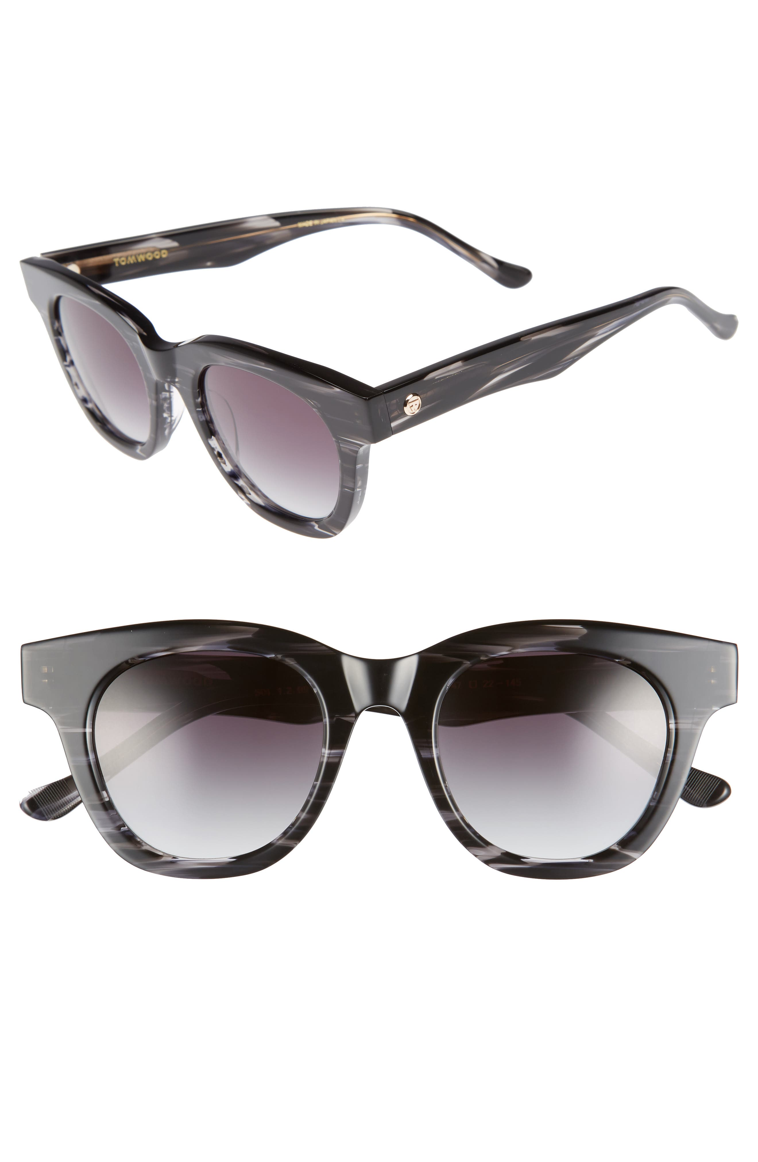 Holly Cat Eye Sunglasses,                         Main,                         color, 001