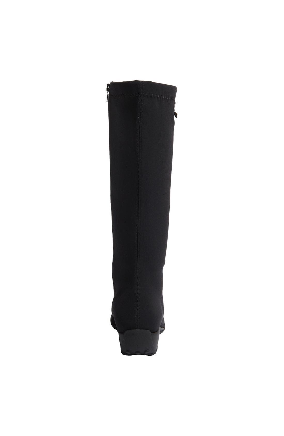 'Linda' Waterproof Stretch Boot,                             Alternate thumbnail 3, color,                             009