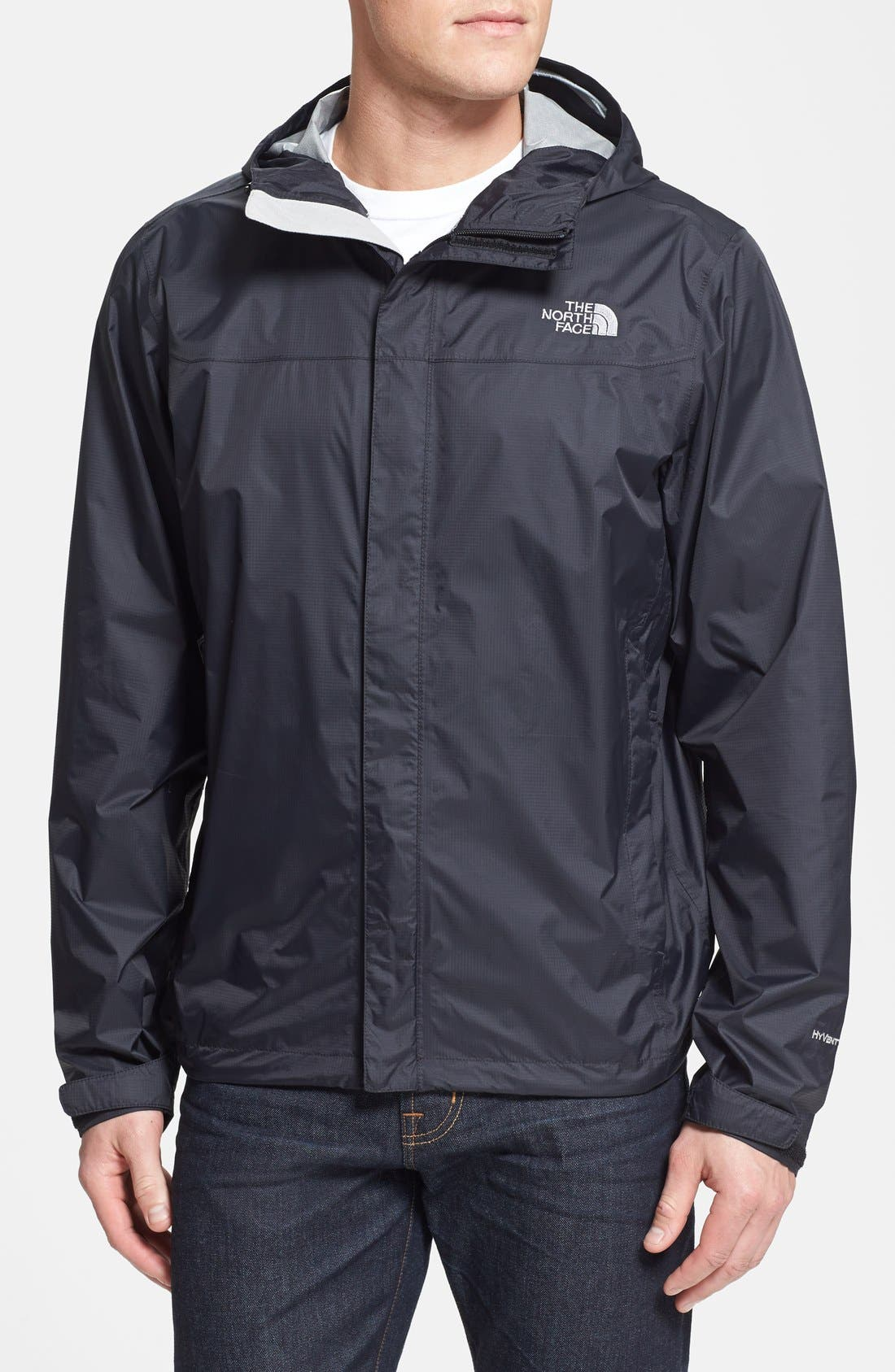 THE NORTH FACE Venture Waterproof Jacket, Main, color, 001