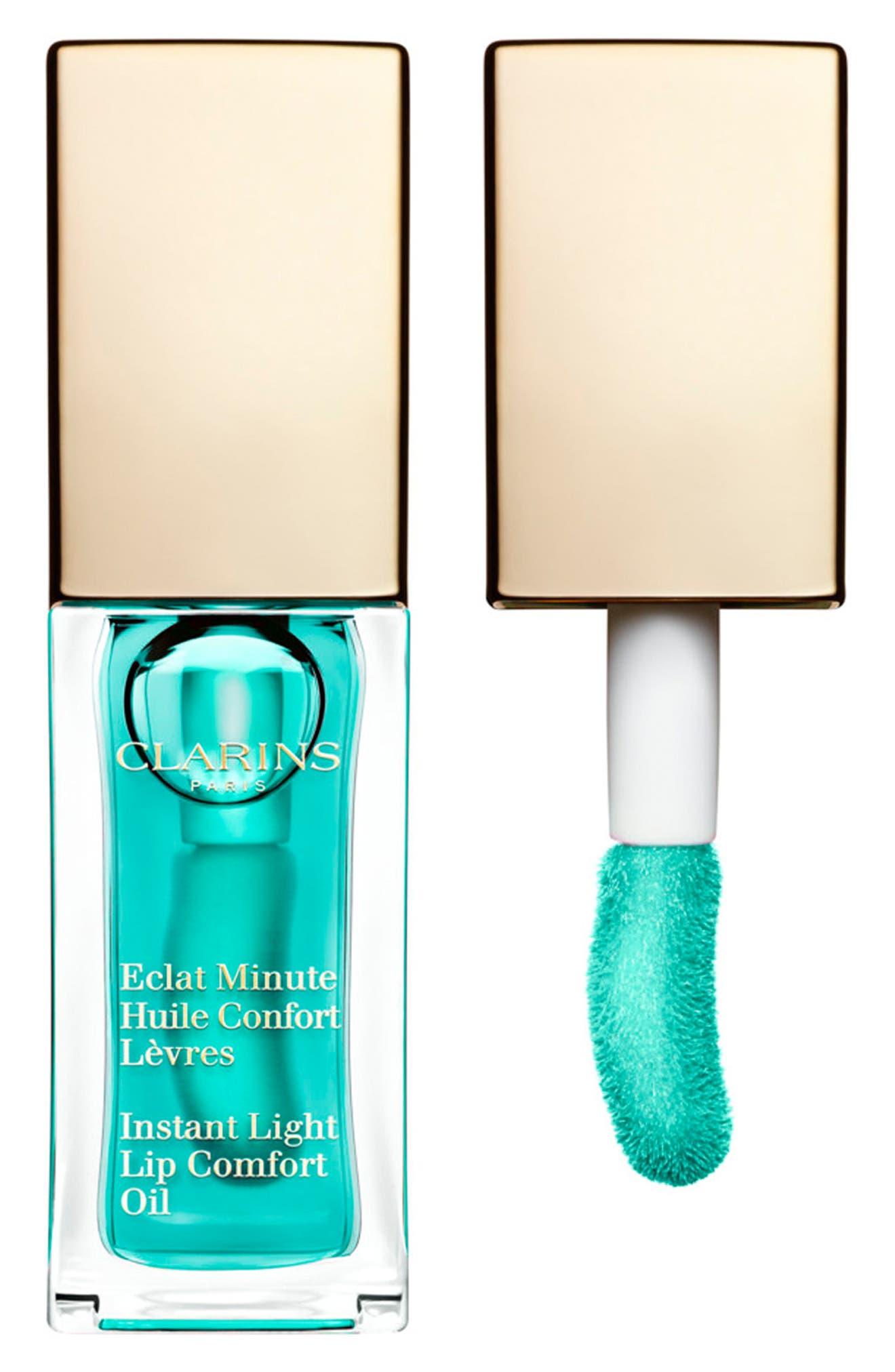 Instant Light Lip Comfort Oil,                         Main,                         color, 06 MINT