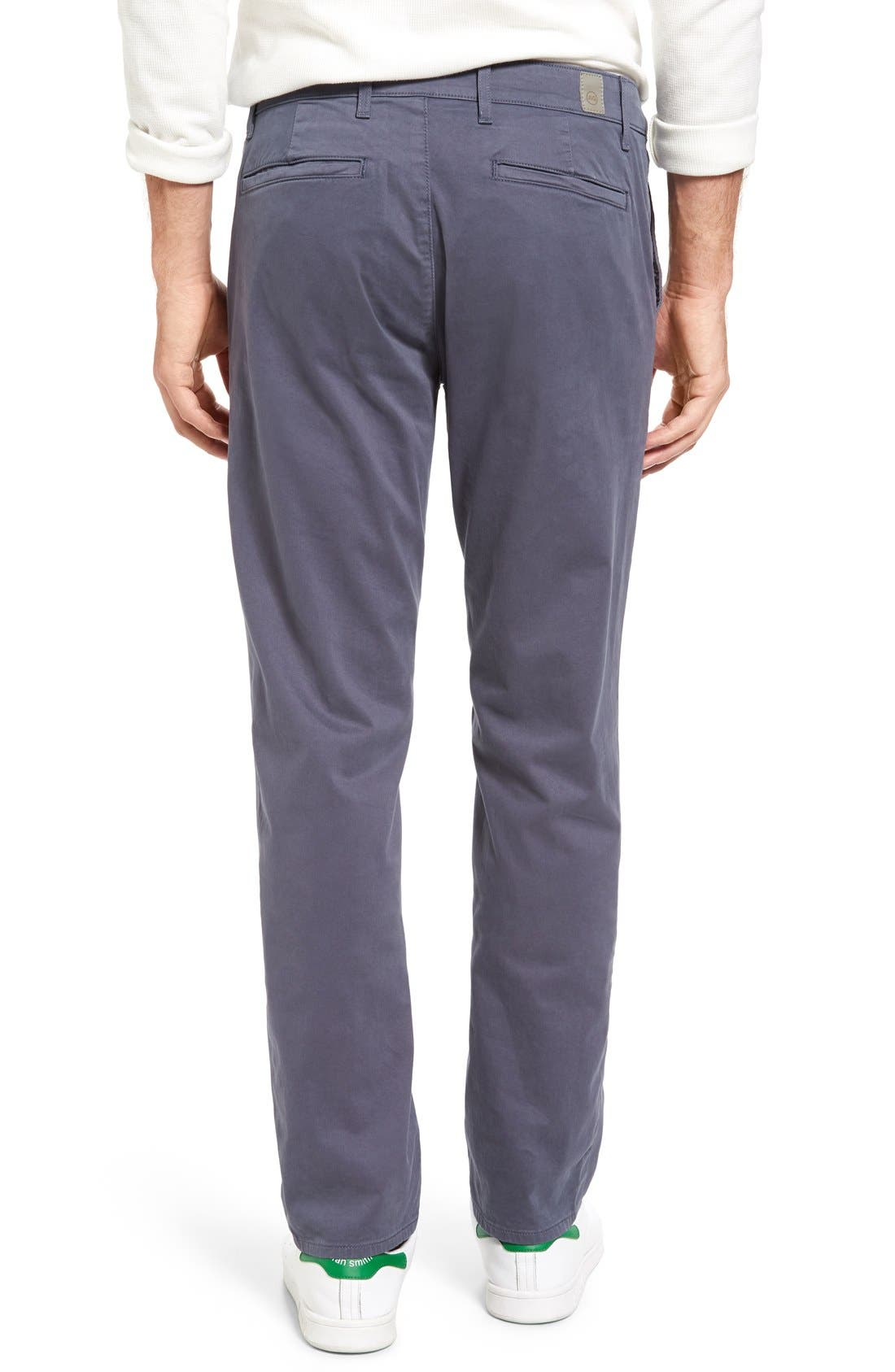 'The Lux' Tailored Straight Leg Chinos,                             Alternate thumbnail 37, color,