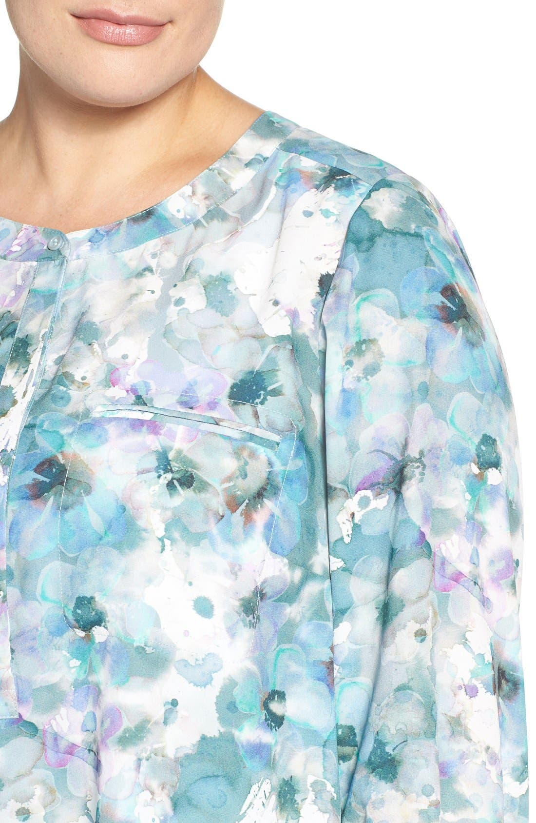 Henley Top,                             Alternate thumbnail 293, color,