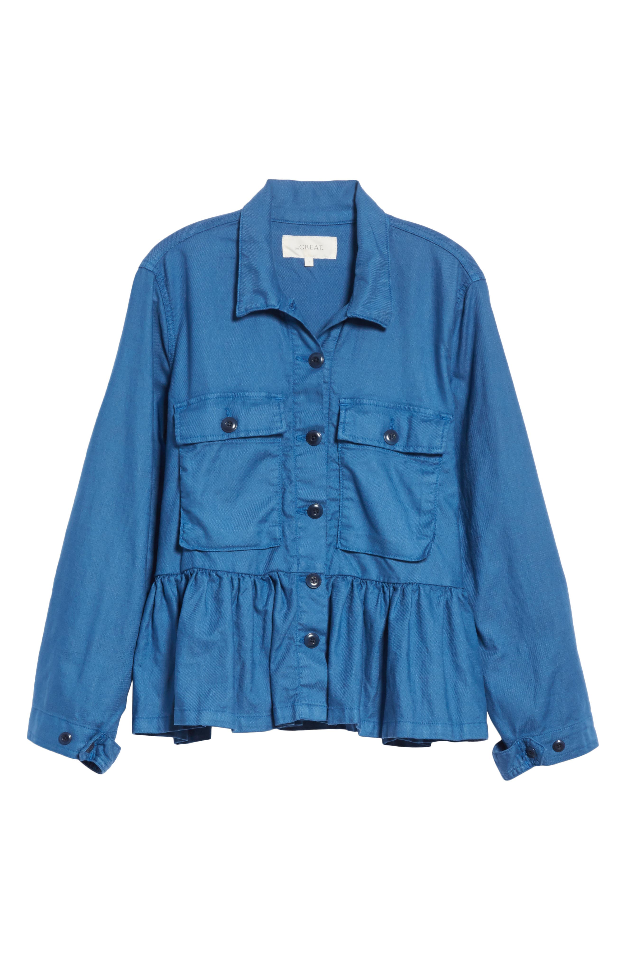 The Flutter Army Jacket,                             Alternate thumbnail 5, color,                             400