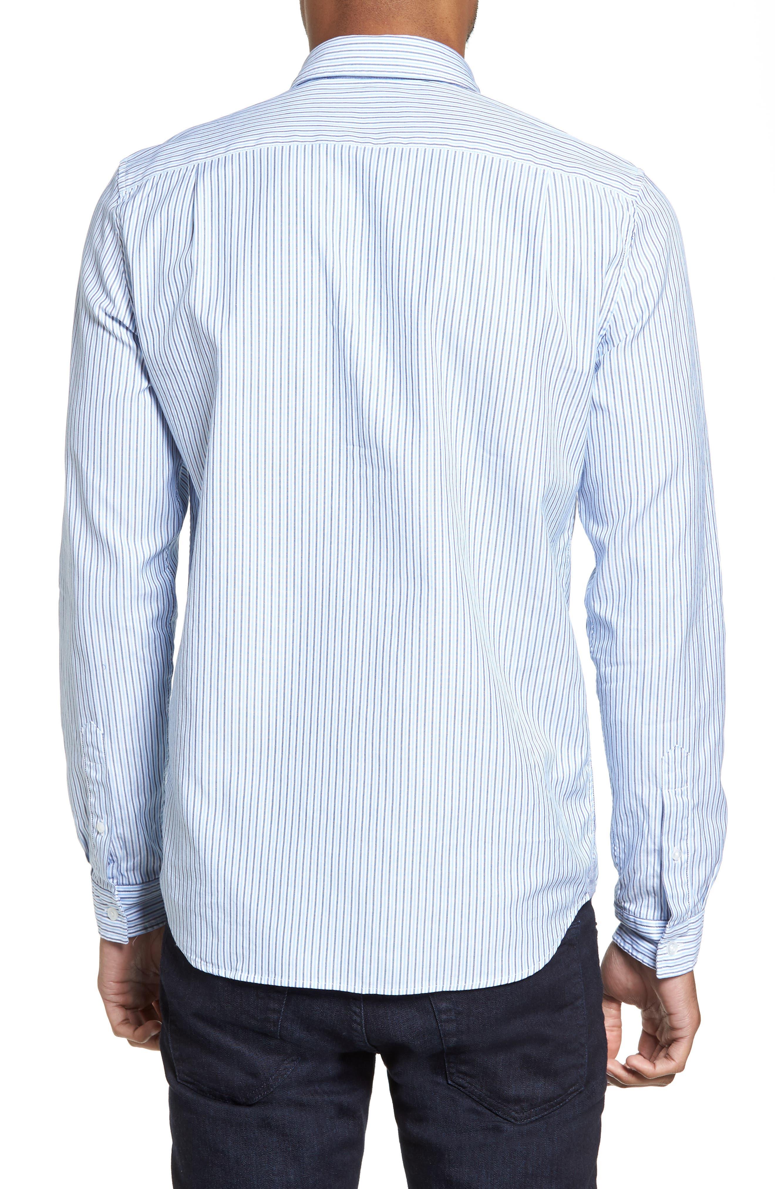 Button-Down Sport Shirt,                             Alternate thumbnail 2, color,                             435