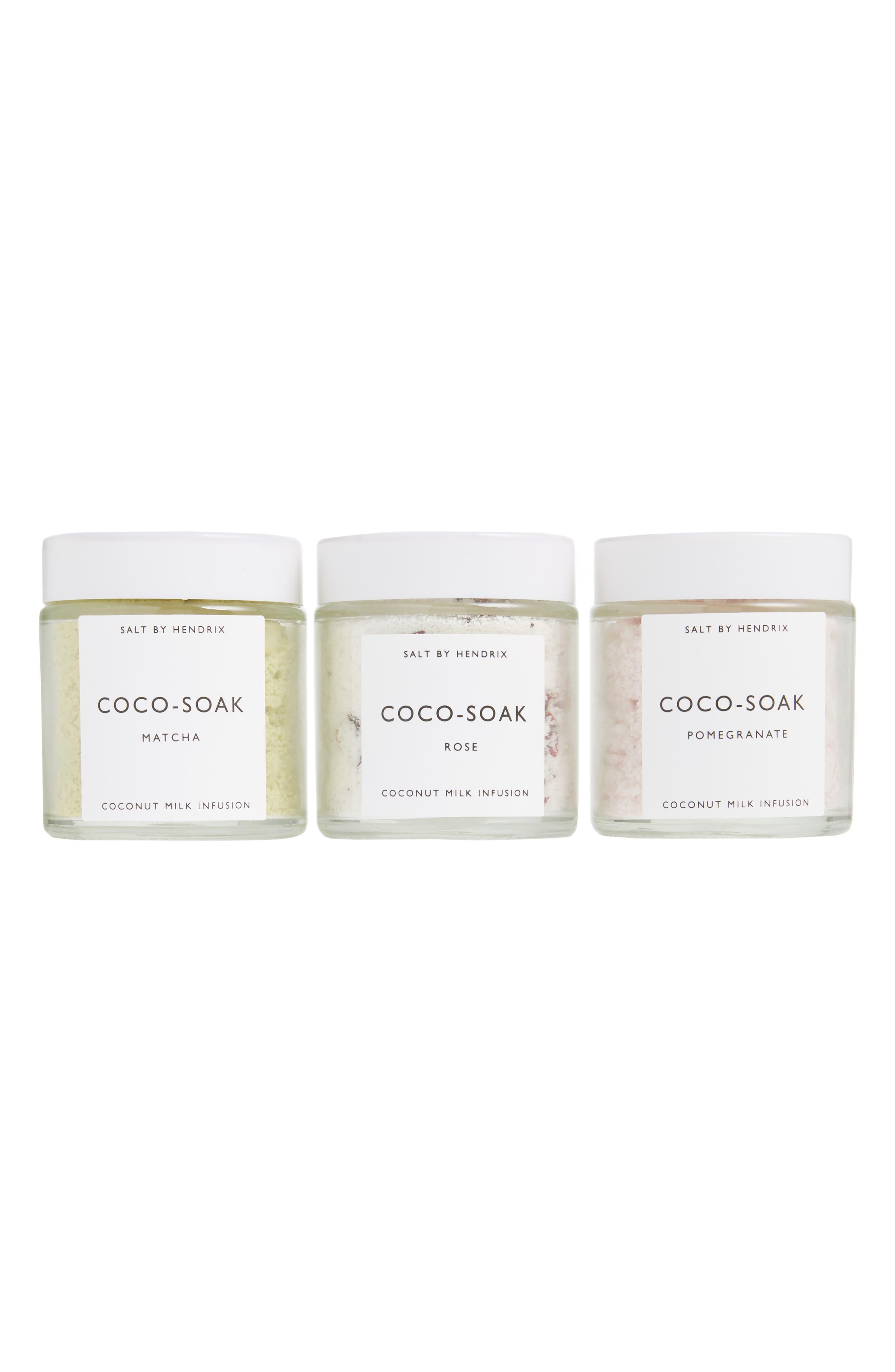Coco-Soak Coconut Milk Infusion Trio,                             Main thumbnail 1, color,                             000