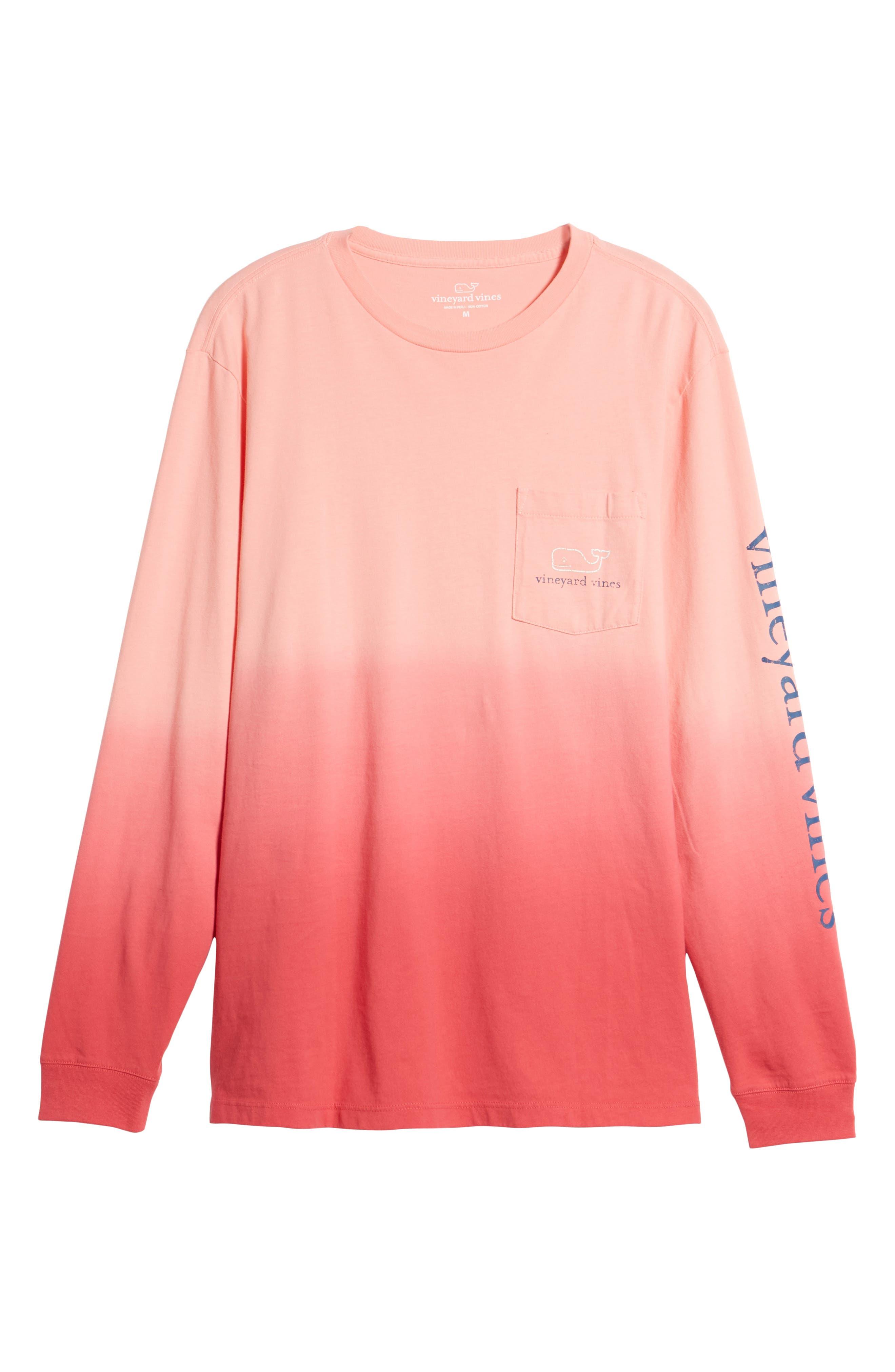 Dip Dye Two-Tone Whale Pocket T-Shirt,                             Alternate thumbnail 12, color,