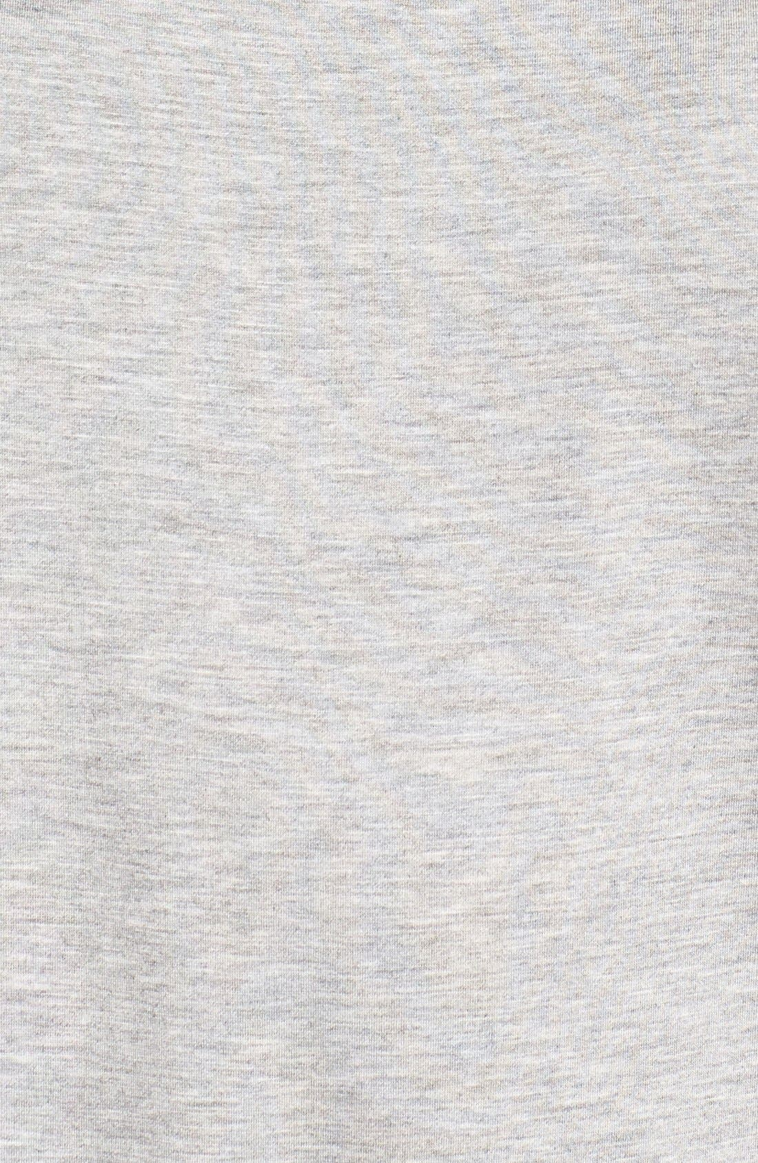 'Bess' Stretch Jersey Boatneck Tee,                             Alternate thumbnail 14, color,