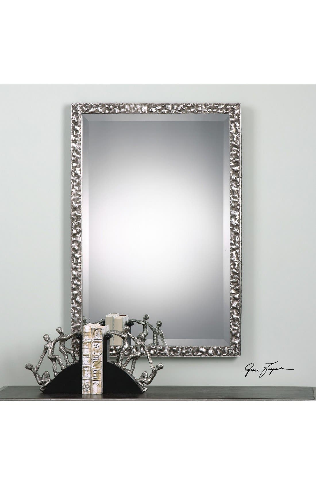 'Alshon' Rectangular Wall Mirror,                             Alternate thumbnail 2, color,                             020