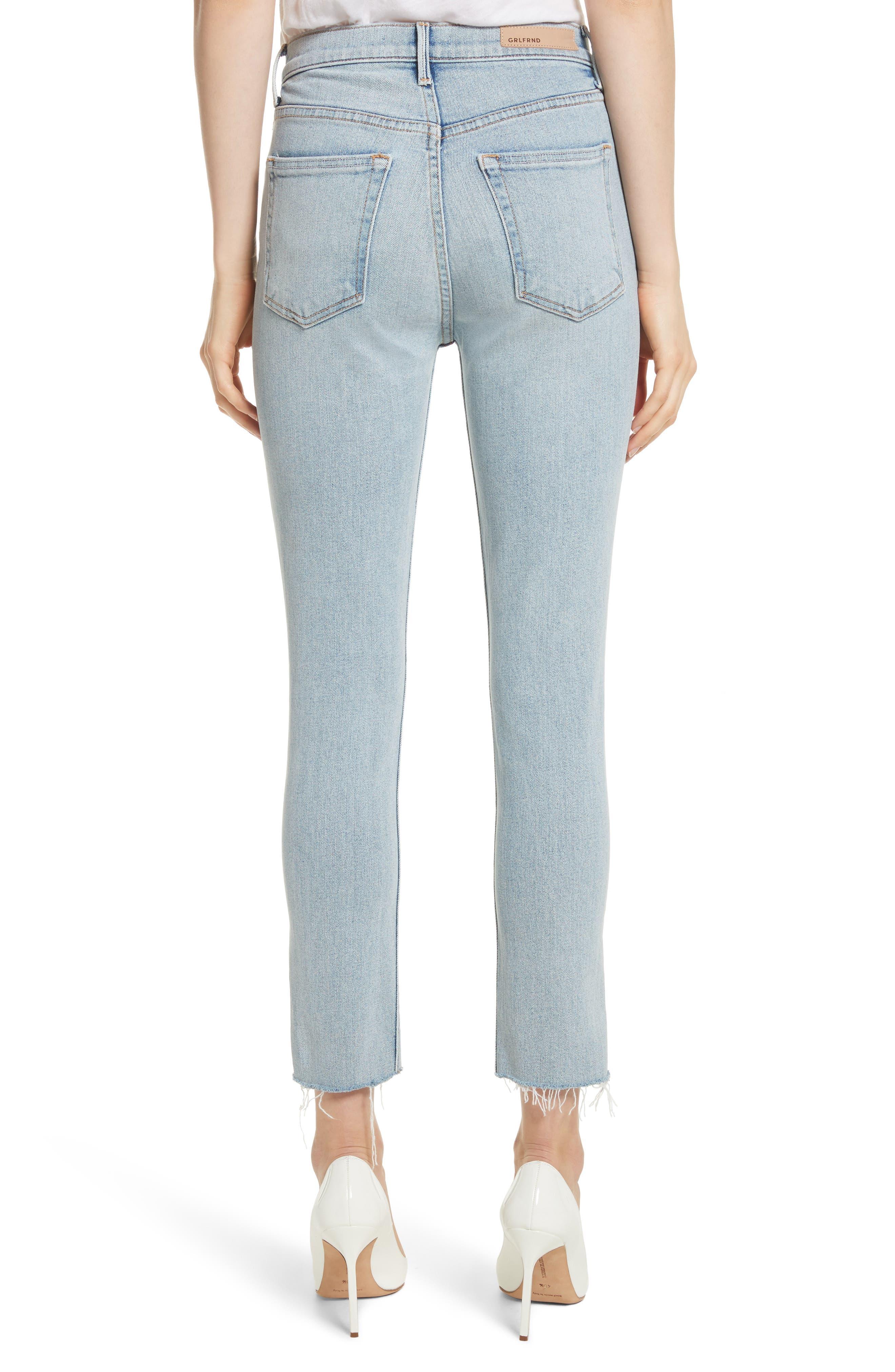 Karolina High Waist Skinny Jeans,                             Alternate thumbnail 2, color,                             TITANIUM