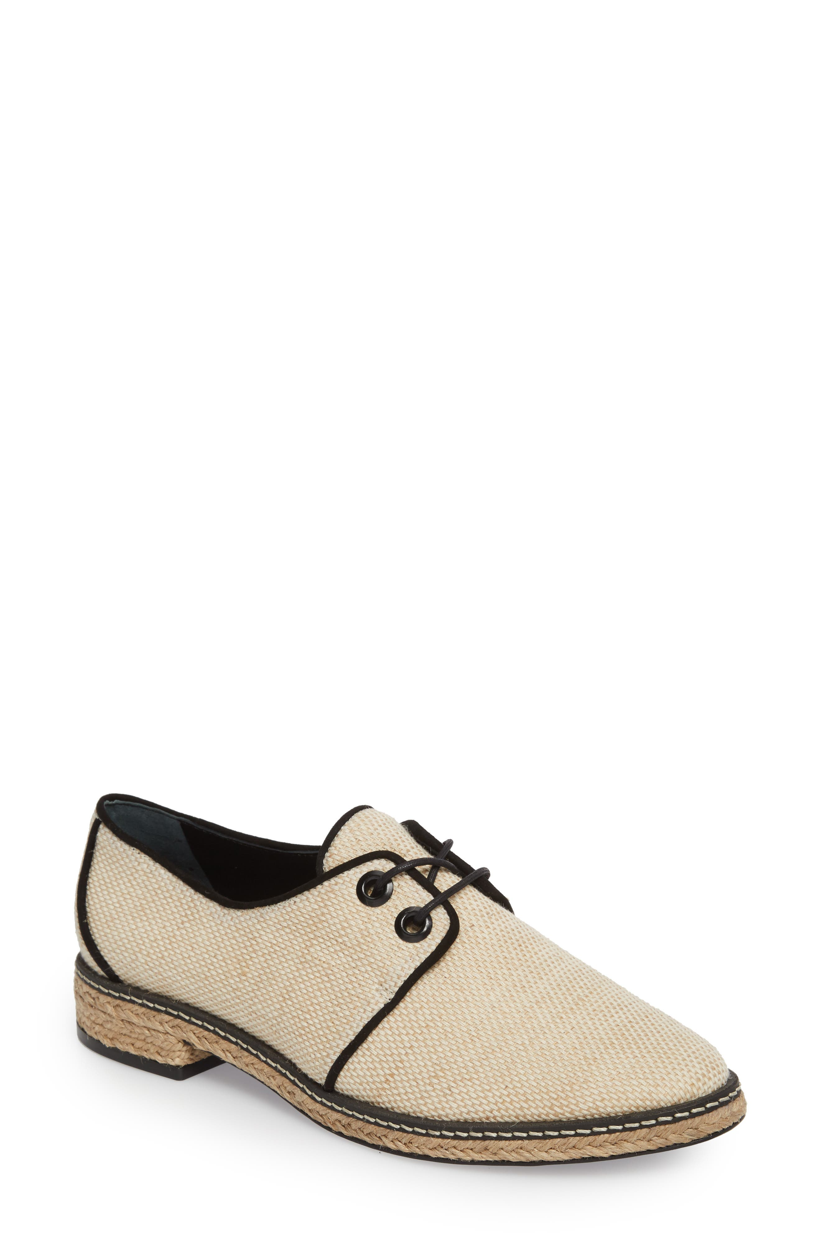 Fawn Espadrille Oxford,                             Main thumbnail 1, color,                             254