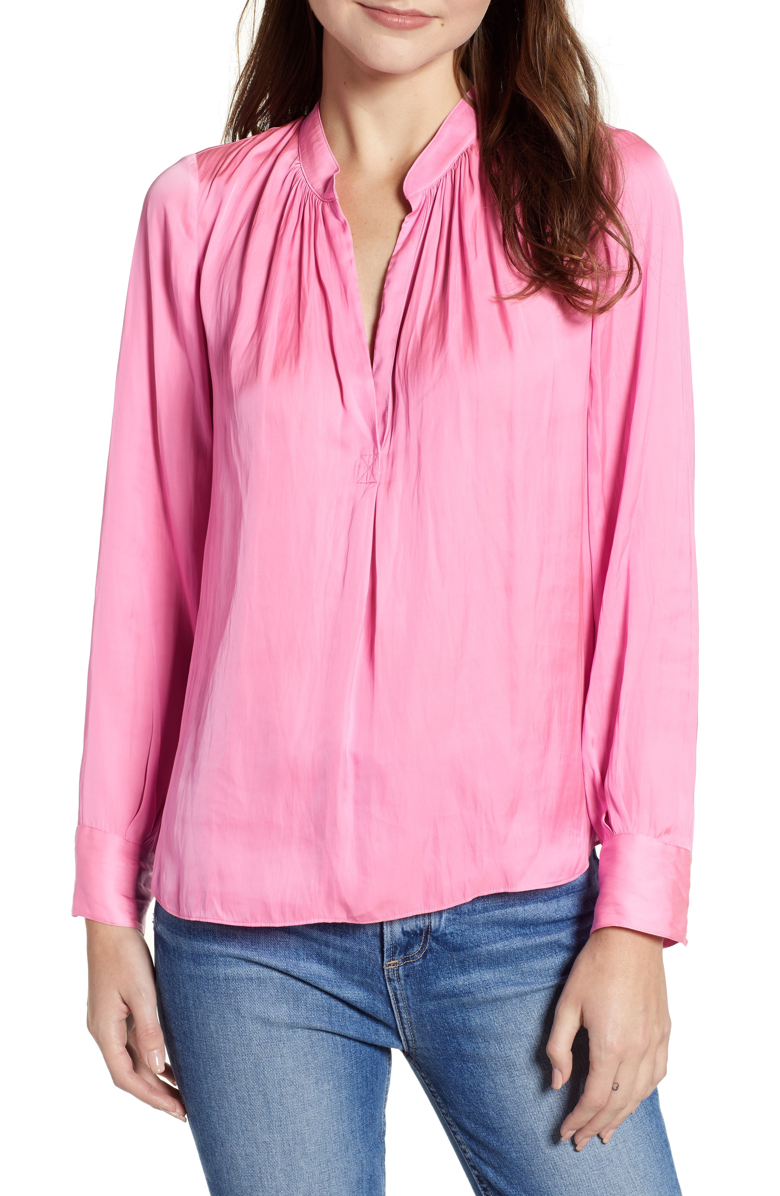 Zadig & Volaire Tink Blouse,                             Main thumbnail 1, color,                             688