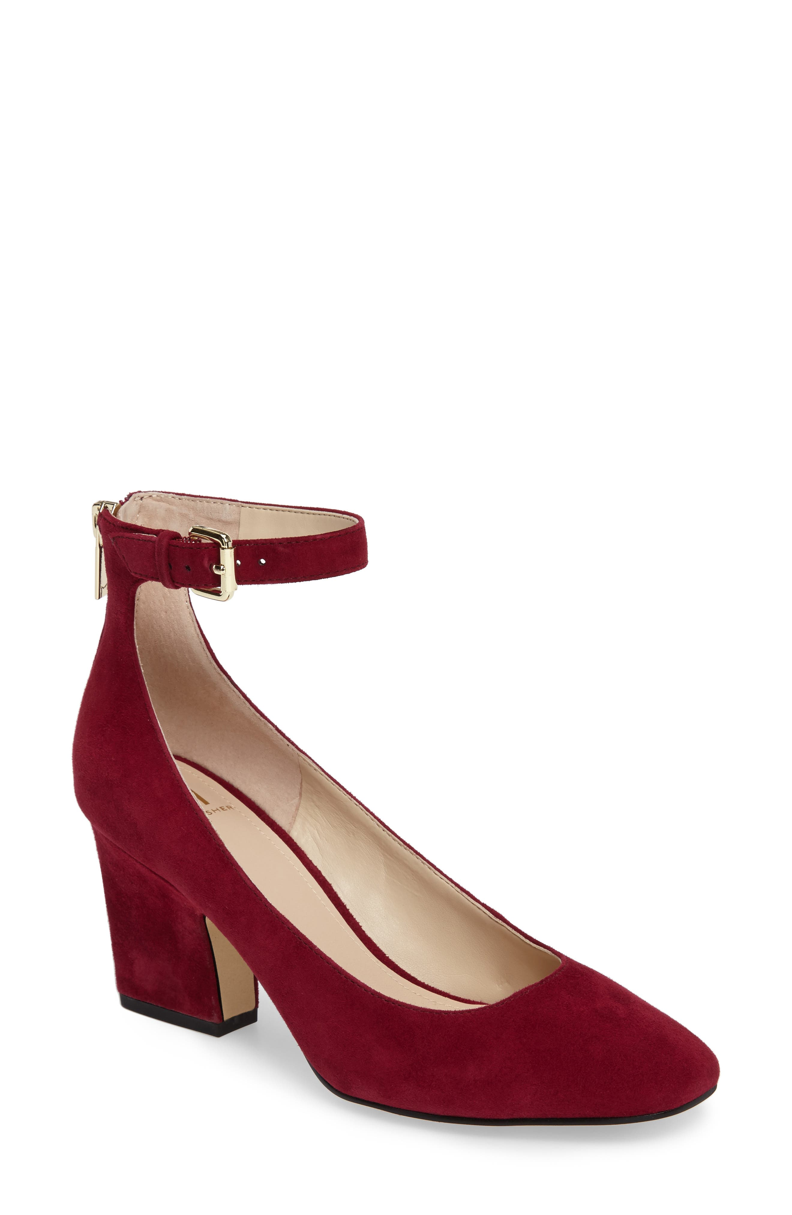 Anisy Ankle Strap Pump,                             Main thumbnail 3, color,