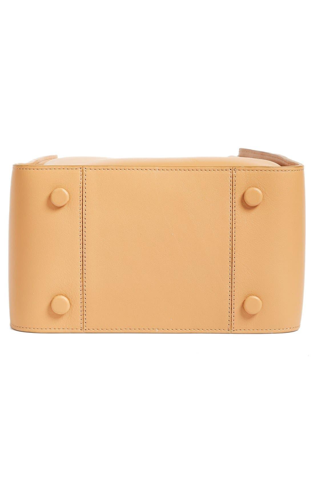 Mini Soleil Leather Bucket Bag,                             Alternate thumbnail 5, color,                             249