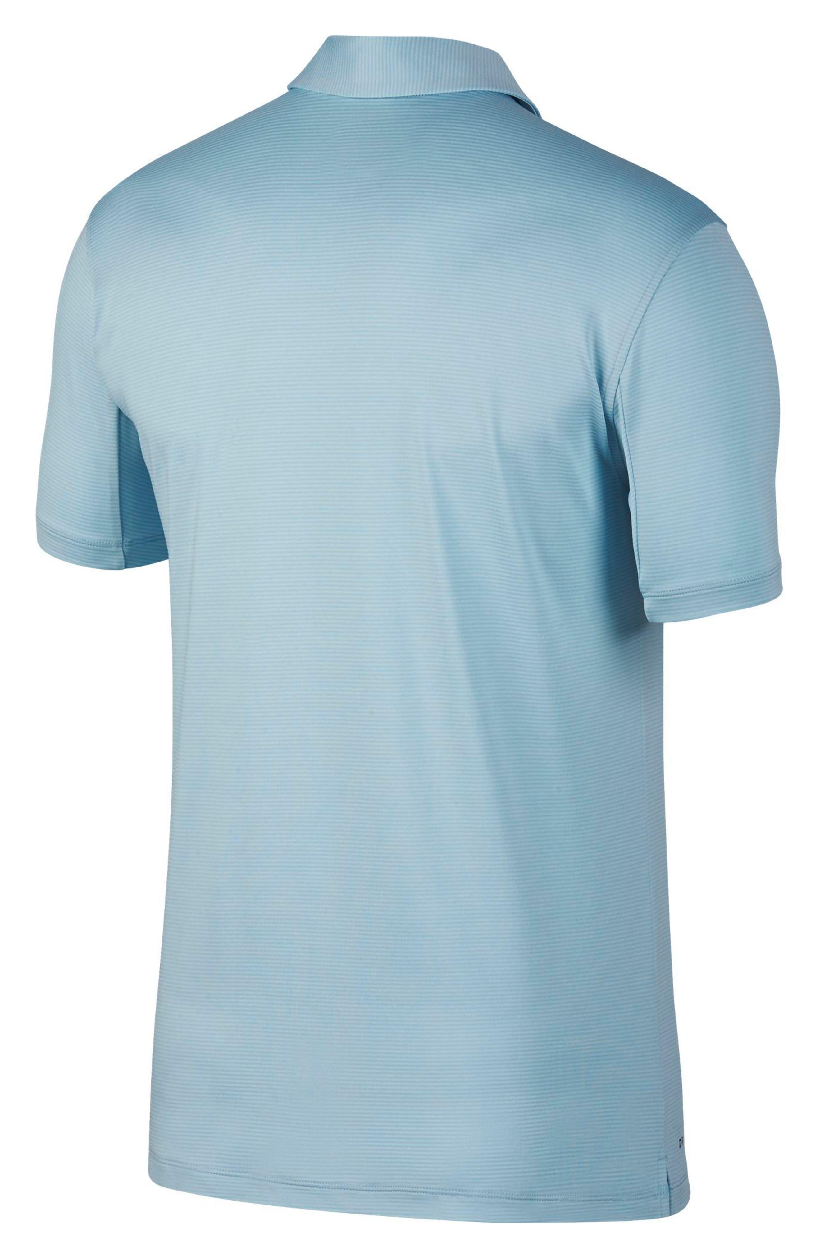 Dry Polo Shirt,                             Alternate thumbnail 7, color,                             OCEAN BLISS/ SILVER