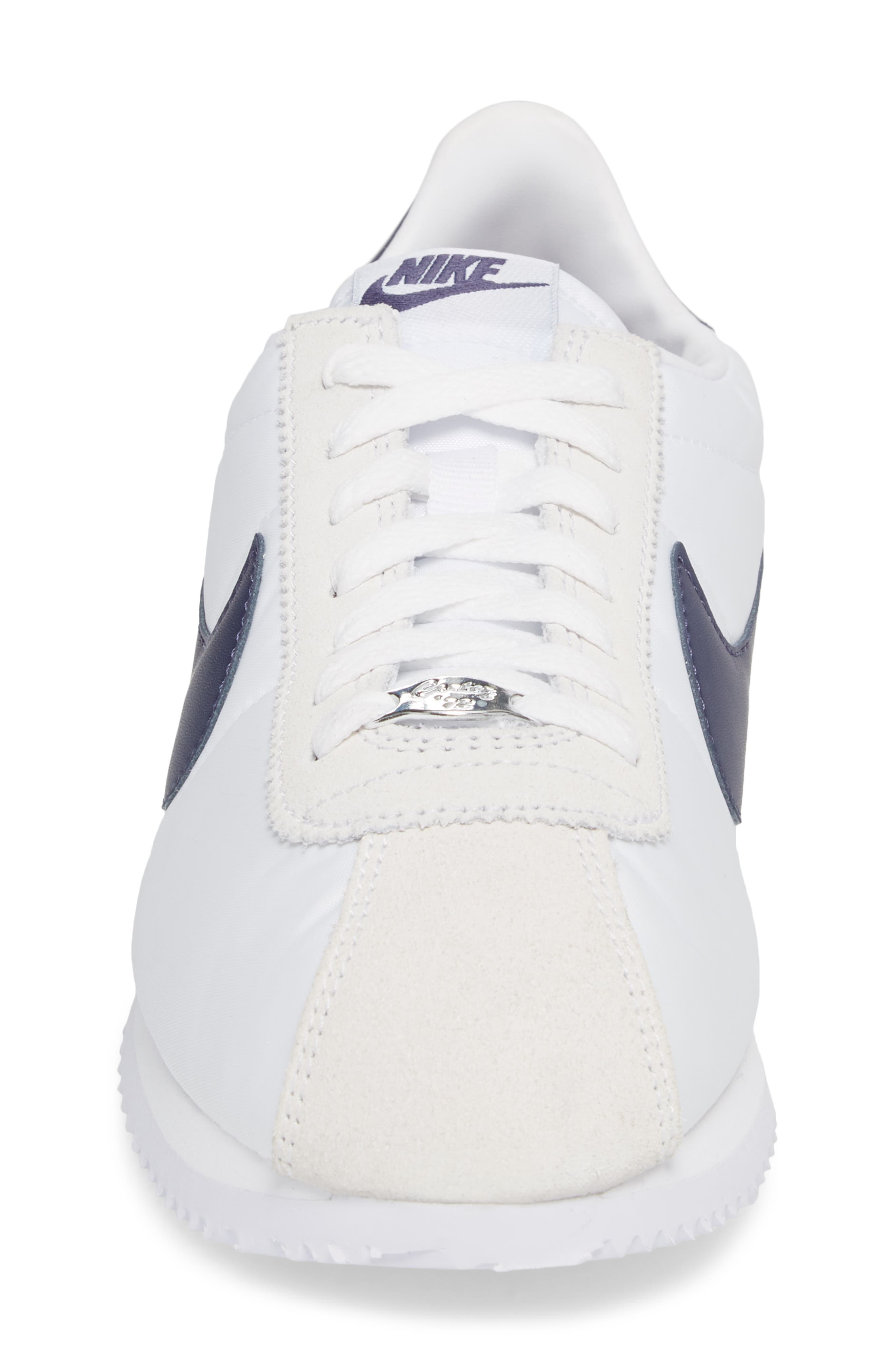 Cortez Basic Nylon Sneaker,                             Alternate thumbnail 4, color,                             102