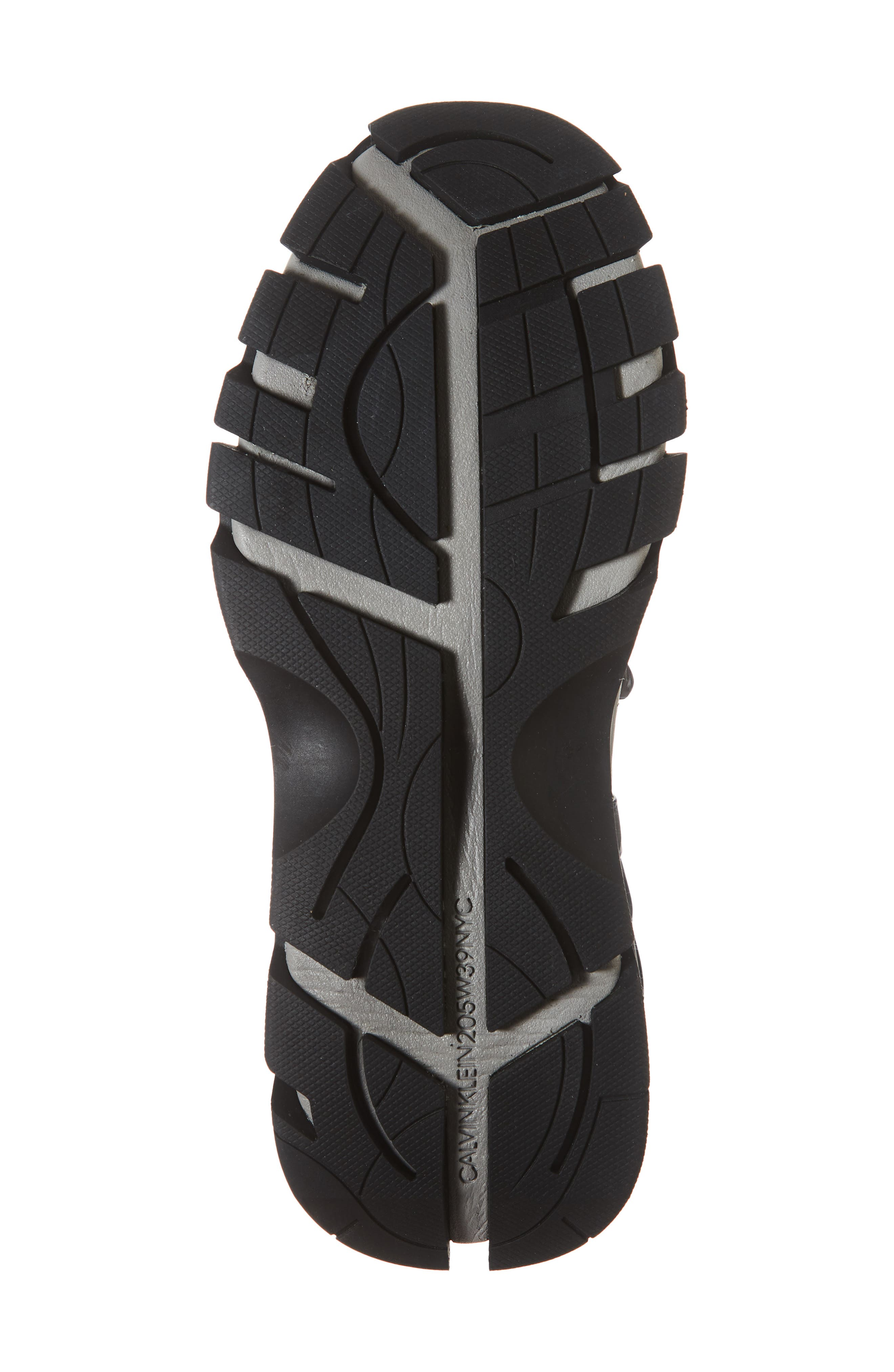 Carsdat 10 Elastic Sneaker,                             Alternate thumbnail 6, color,                             BLACK