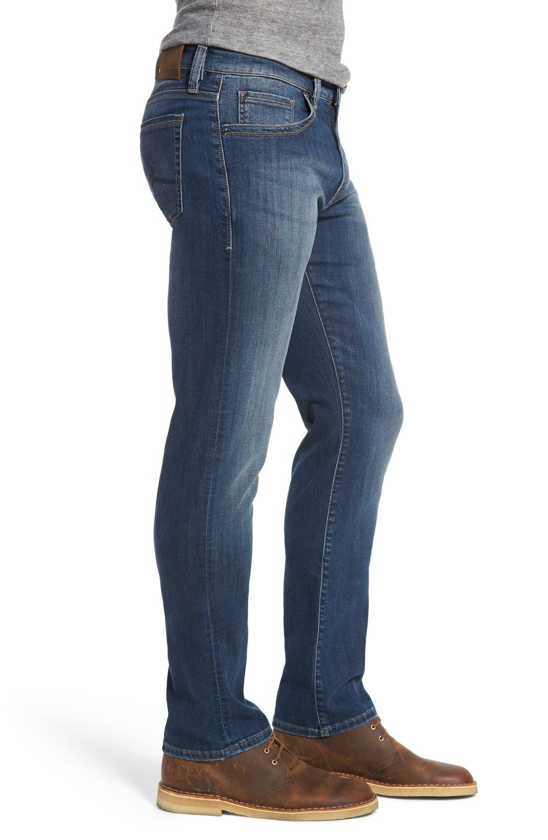 34 HERITAGE,                             Courage Straight Leg Jeans,                             Alternate thumbnail 5, color,                             COURAGE MID VINTAGE