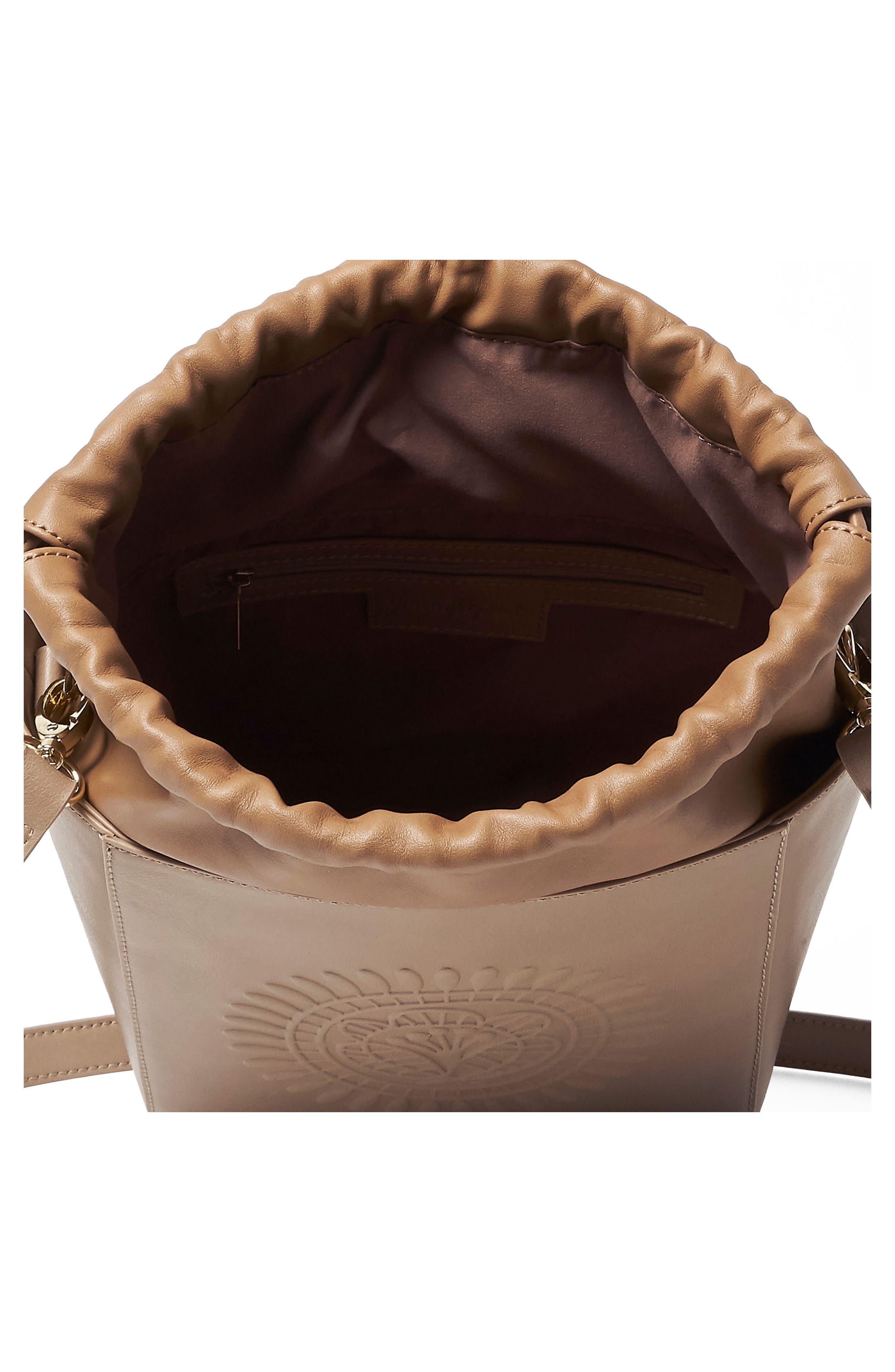 Wanderer Vegan Leather Bucket Bag,                             Alternate thumbnail 4, color,