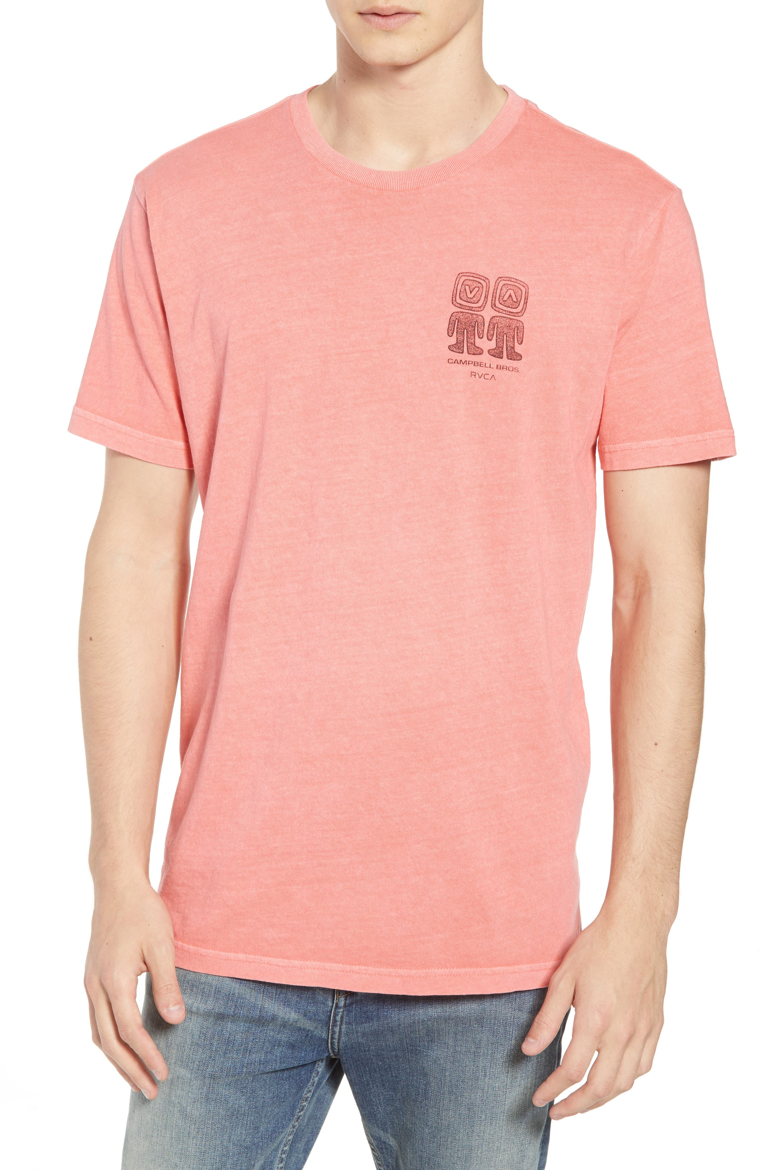 Campbell Brothers T-Shirt,                         Main,                         color, PINK