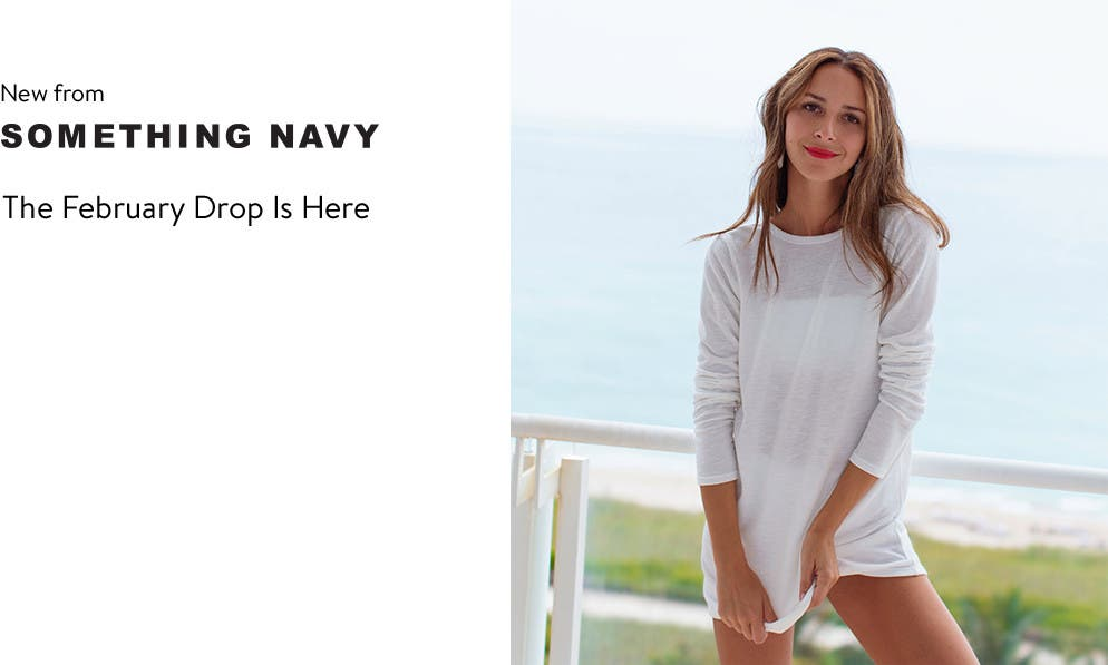 The Something Navy February drop is here.