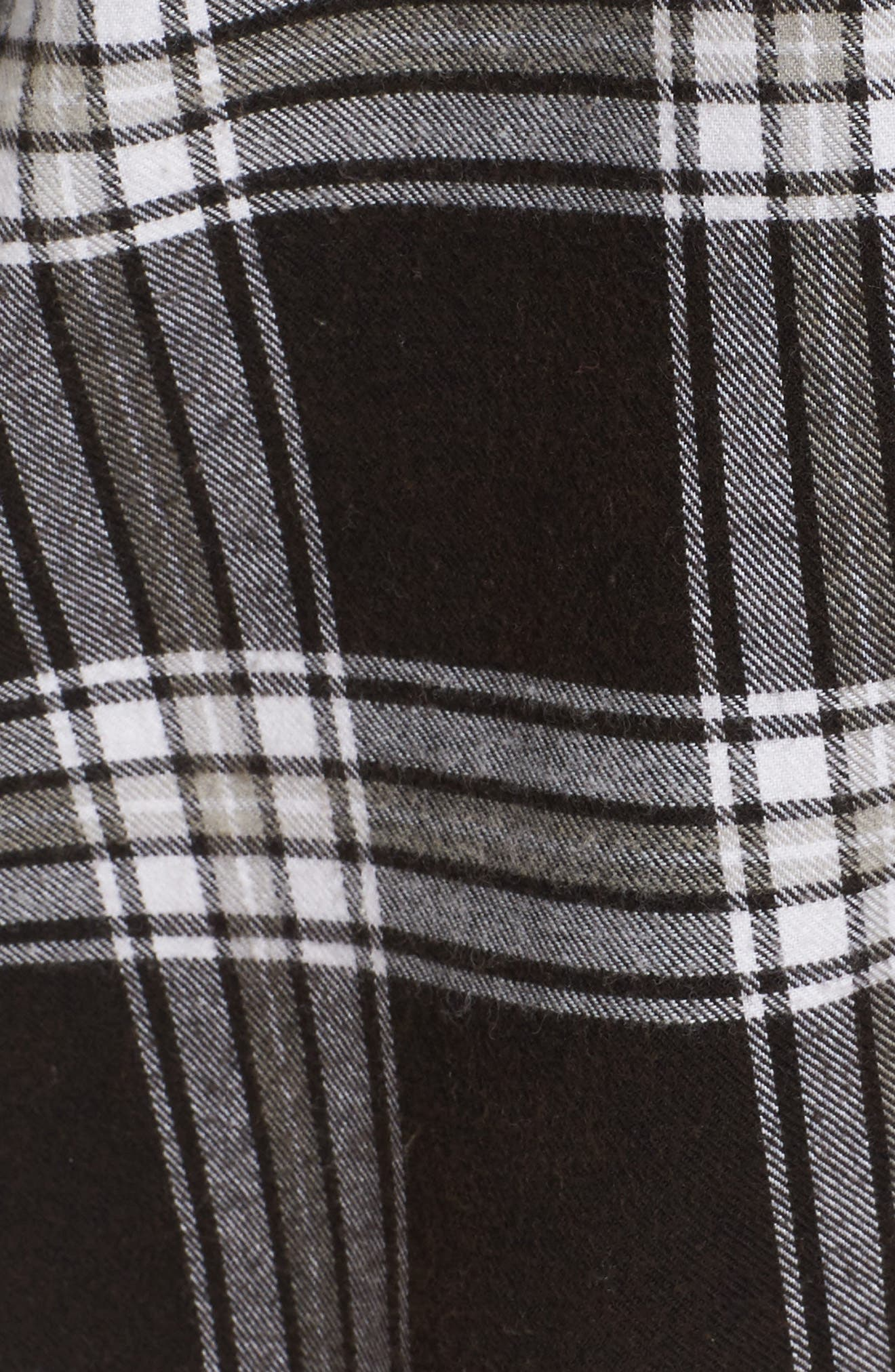 Plaid Cotton Blend Nightshirt,                             Alternate thumbnail 41, color,
