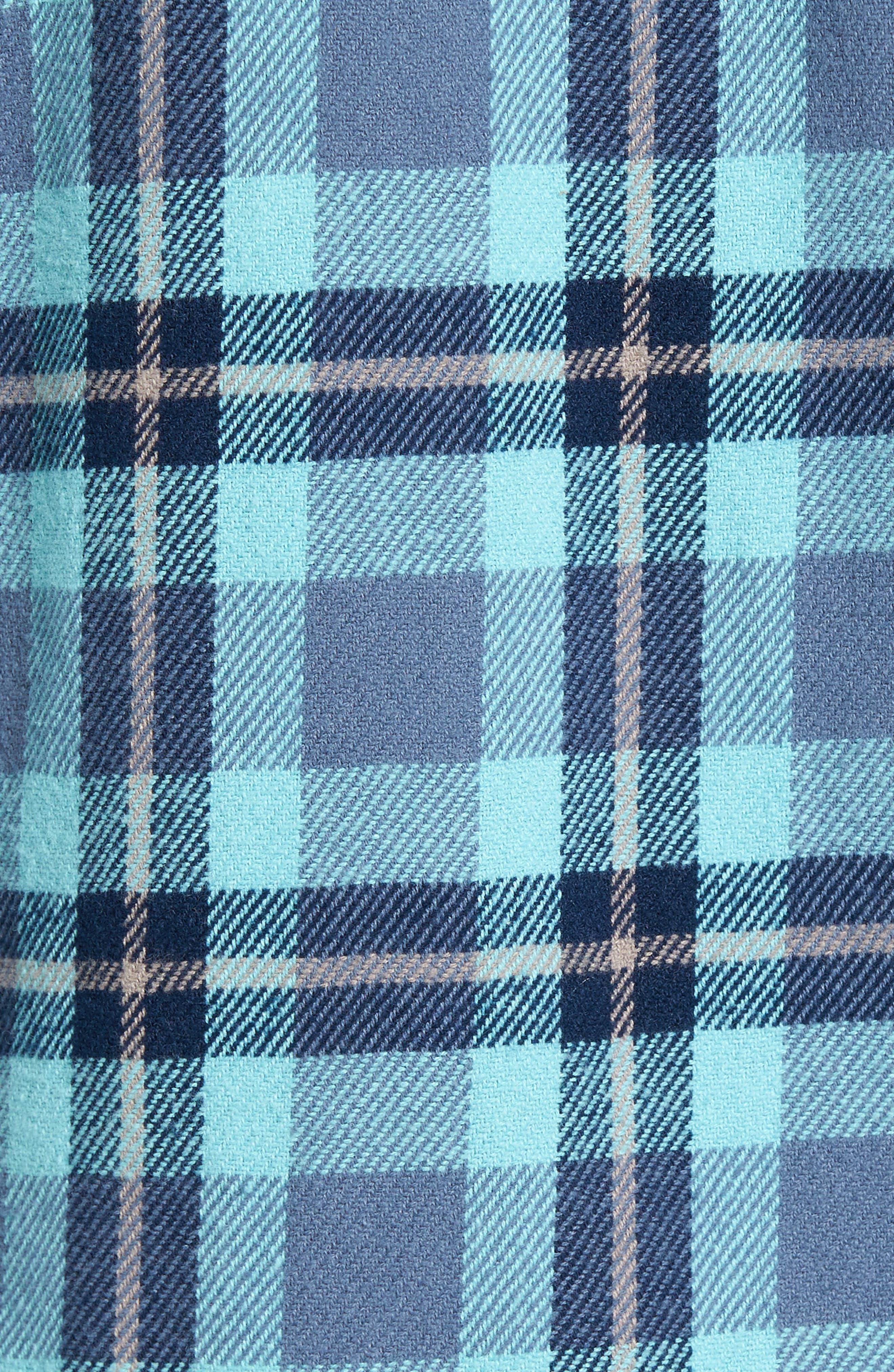 'That'll Work' Trim Fit Plaid Flannel Shirt,                             Alternate thumbnail 28, color,