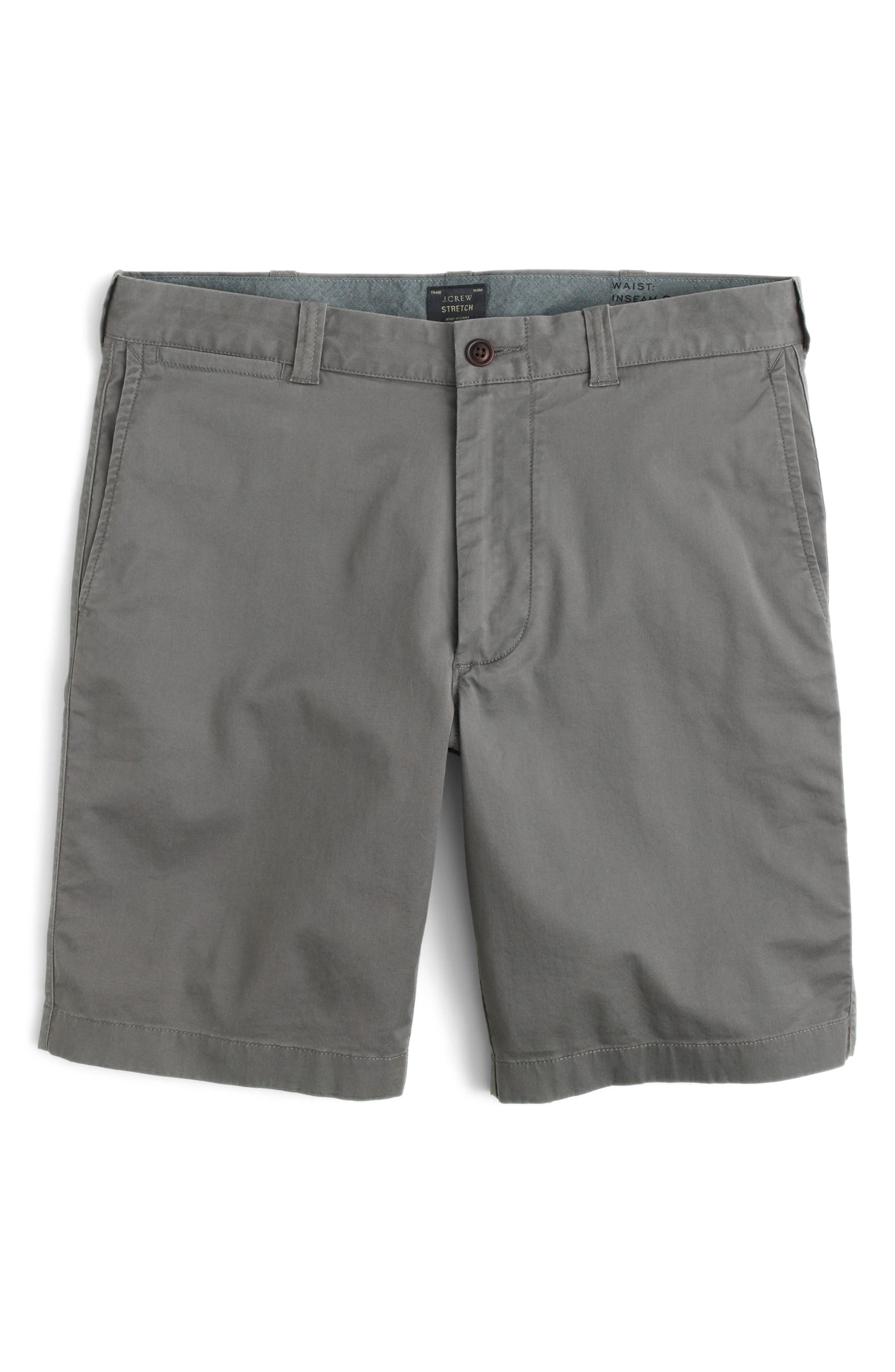Stretch Chino Shorts,                             Alternate thumbnail 4, color,                             020
