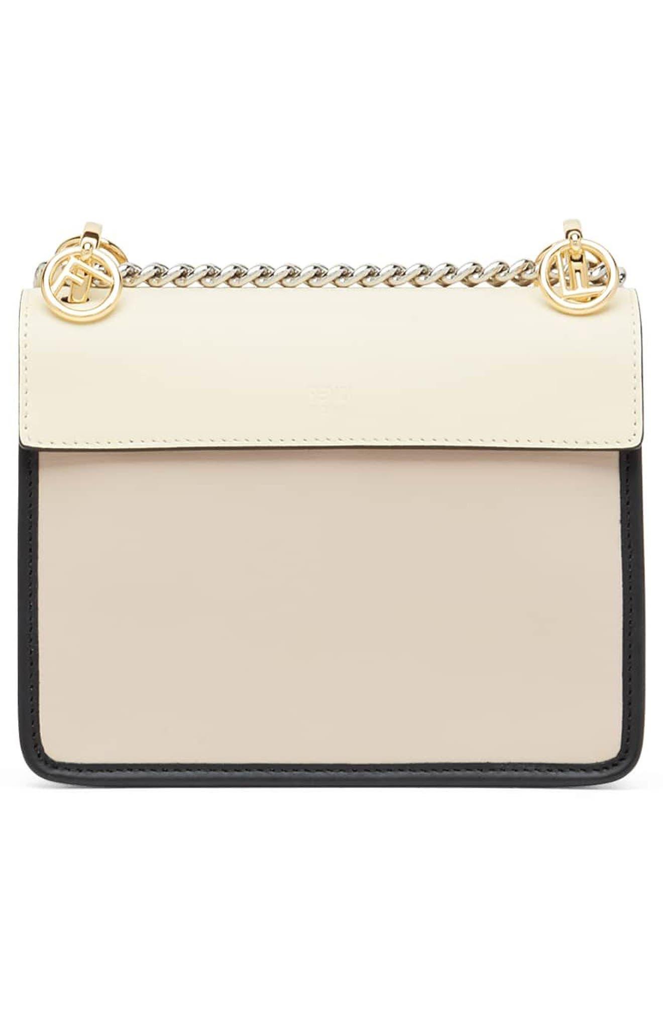 Mini Kan I Colorblock Leather Shoulder Bag,                             Alternate thumbnail 2, color,                             650