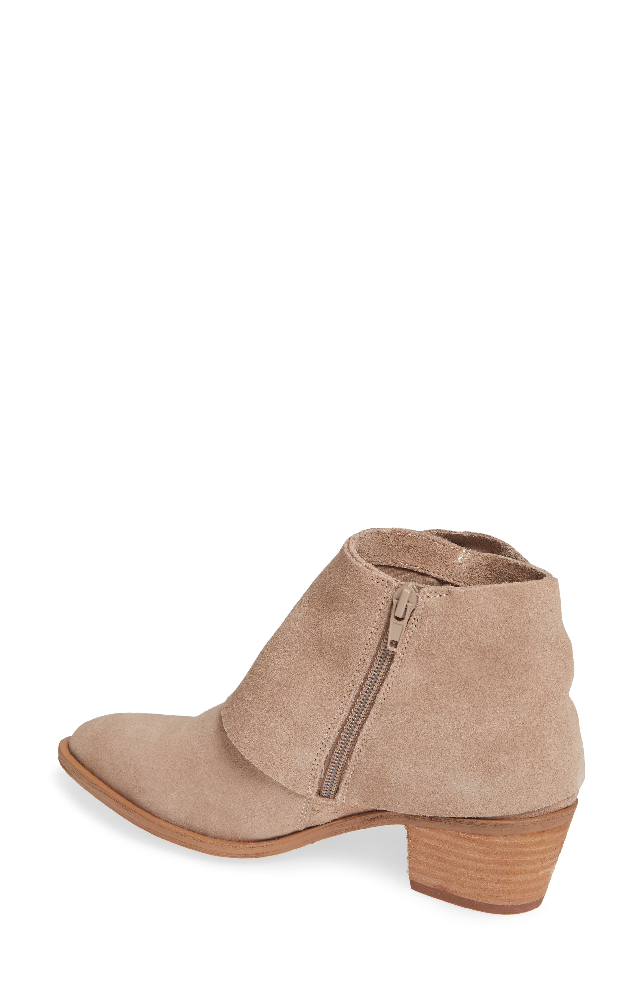 Natalyia Bootie,                             Alternate thumbnail 2, color,                             WARM TAUPE SUEDE
