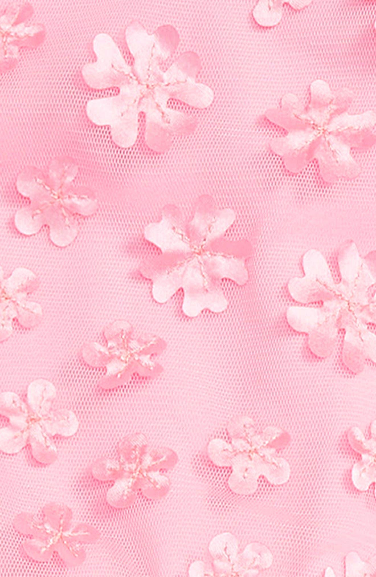 'Mini Flower' Pettidress,                             Alternate thumbnail 3, color,                             PINK