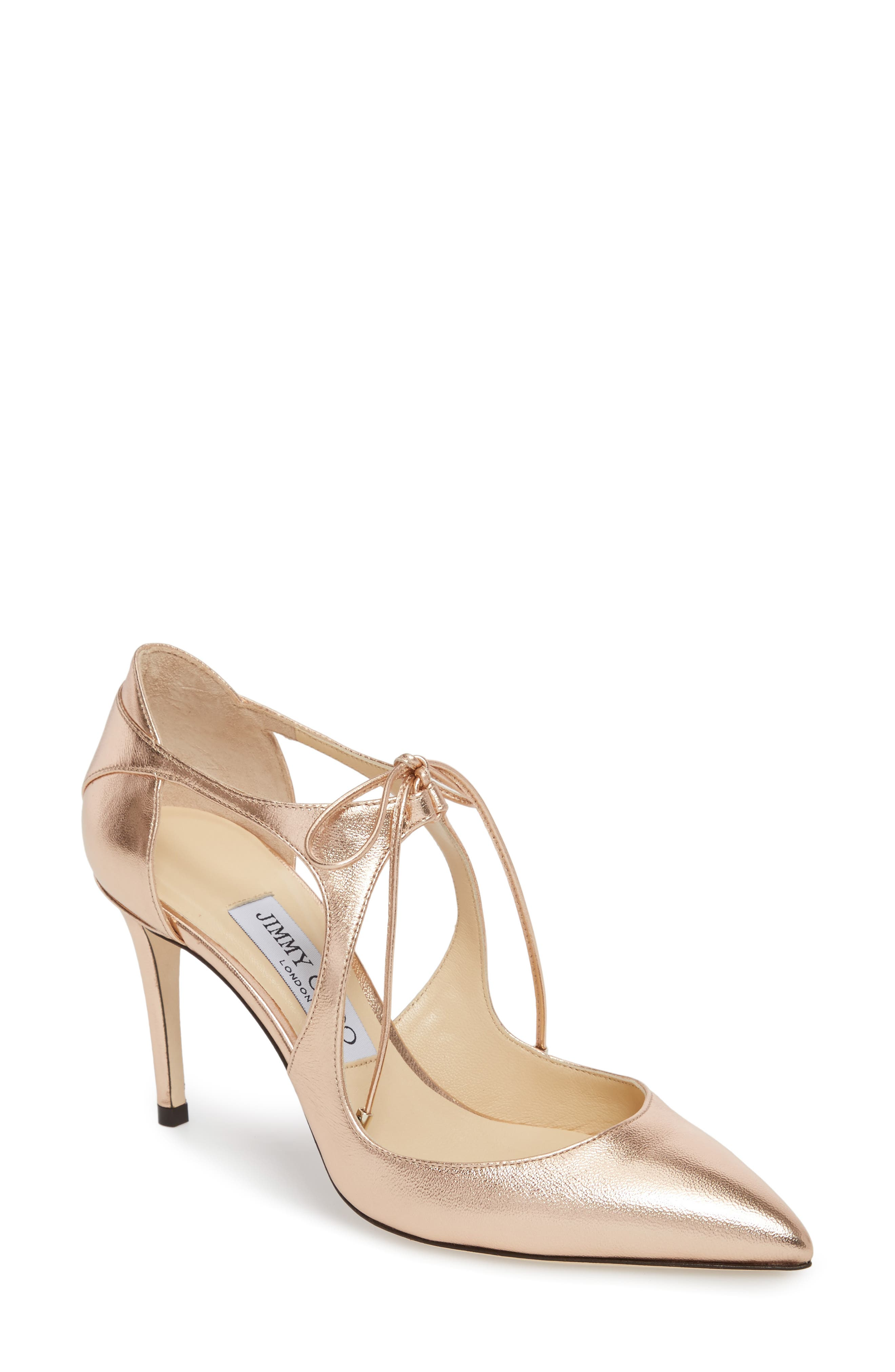 Vanessa Lace-Up Pump,                             Main thumbnail 1, color,                             680
