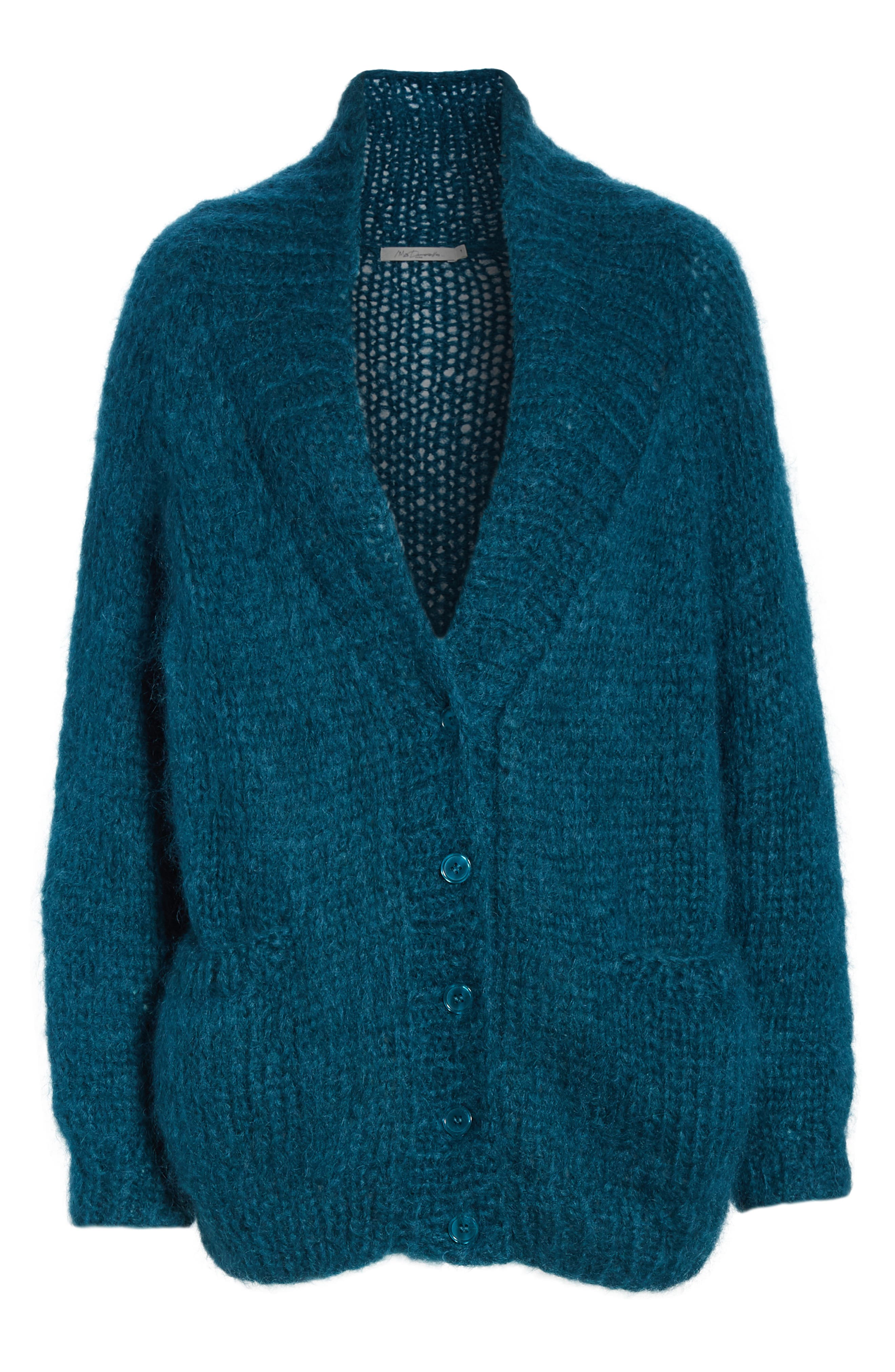 Knitted Cardigan,                             Alternate thumbnail 6, color,                             440