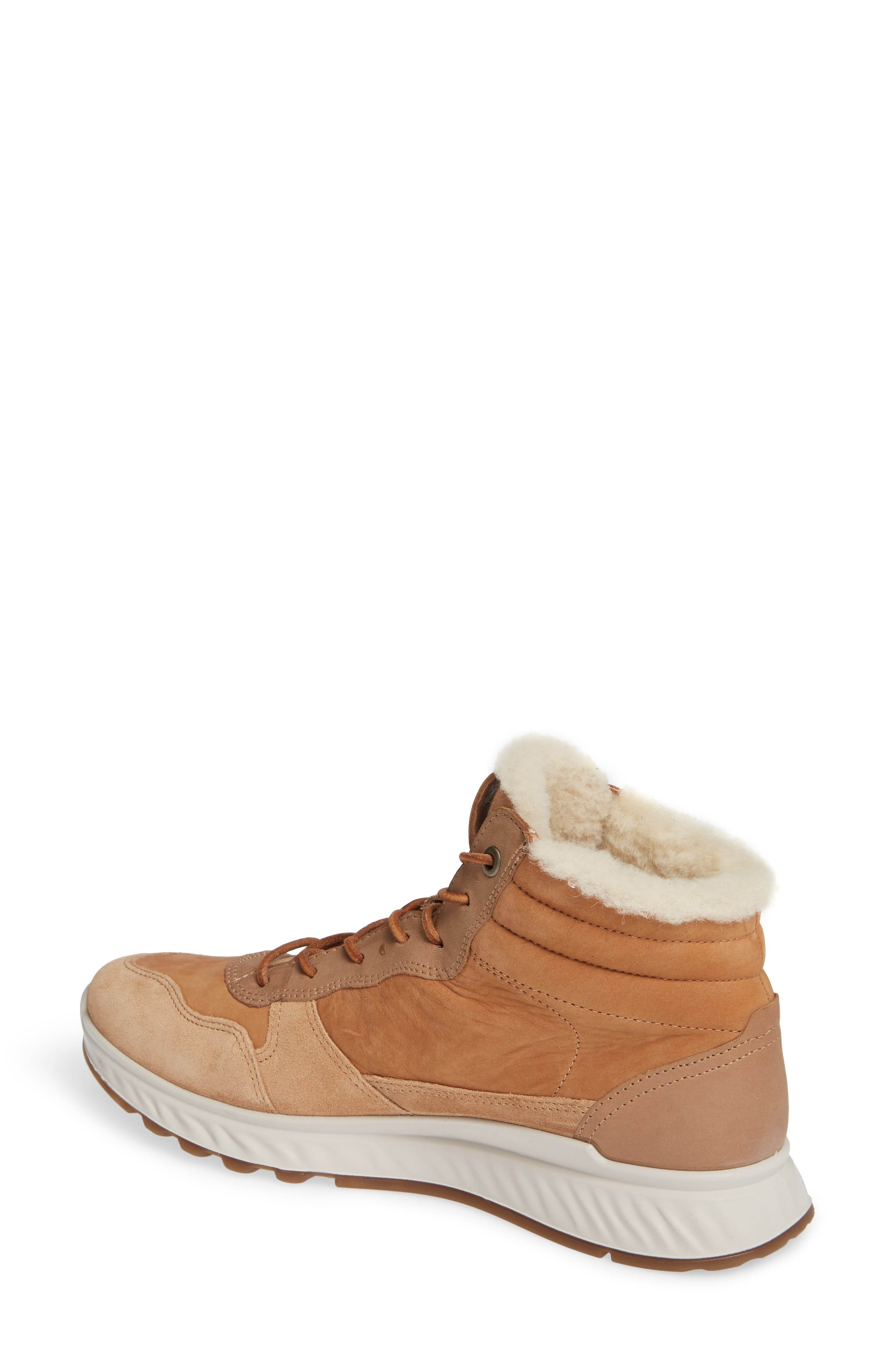 ST1 Genuine Shearling High Top Sneaker,                             Alternate thumbnail 2, color,                             200