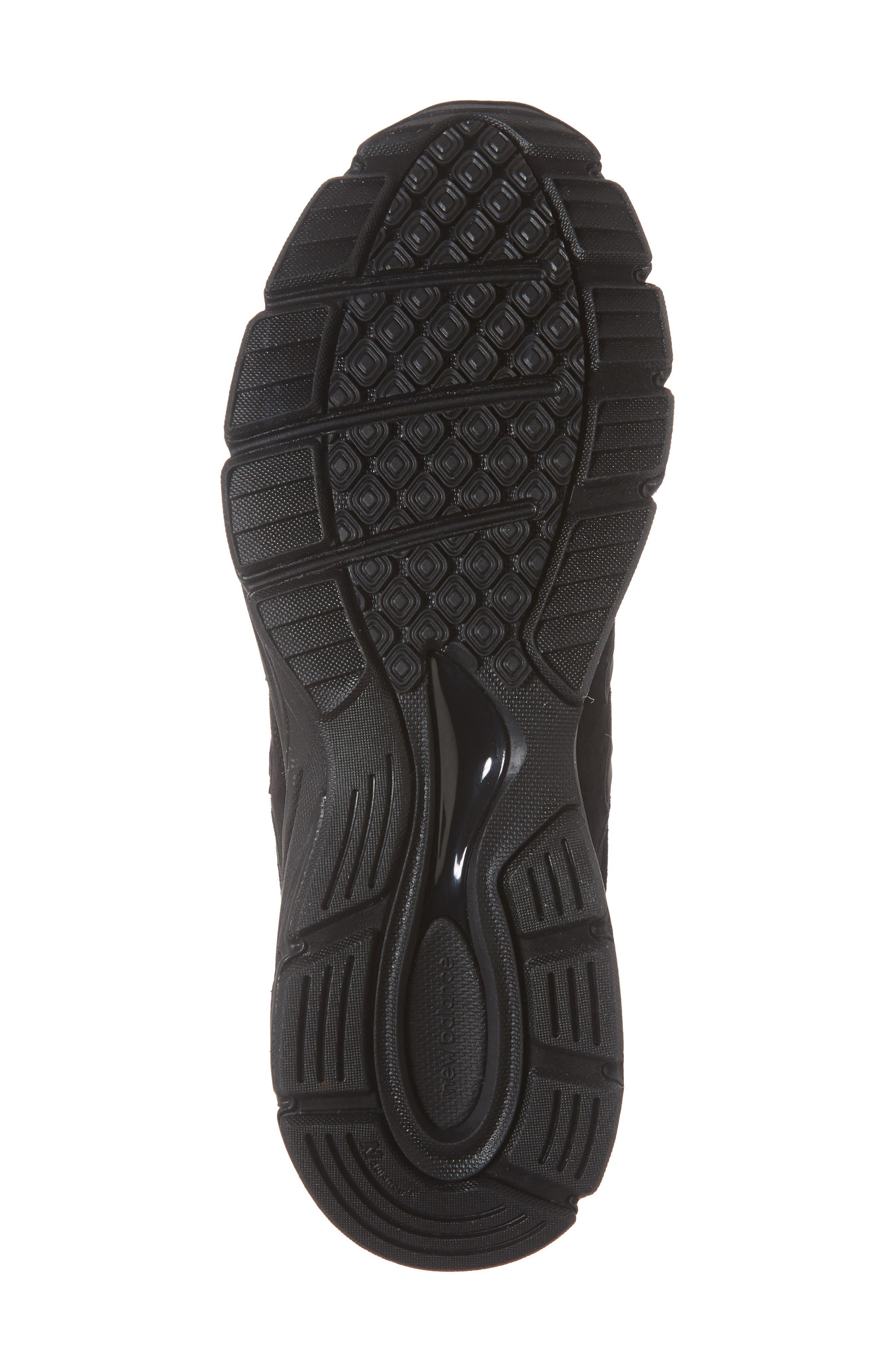 '990' Running Shoe,                             Alternate thumbnail 6, color,                             BLACK/BLACk