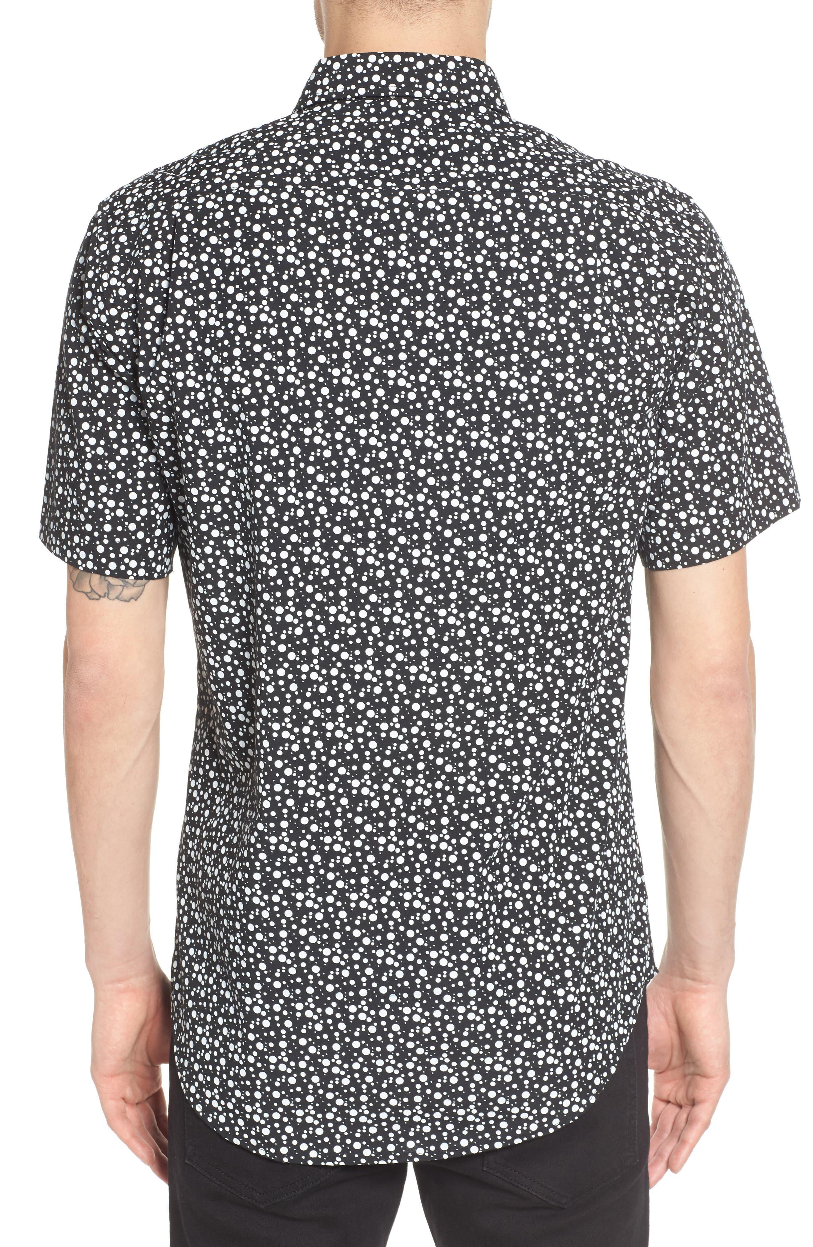 Bubble Print Woven Shirt,                             Alternate thumbnail 2, color,