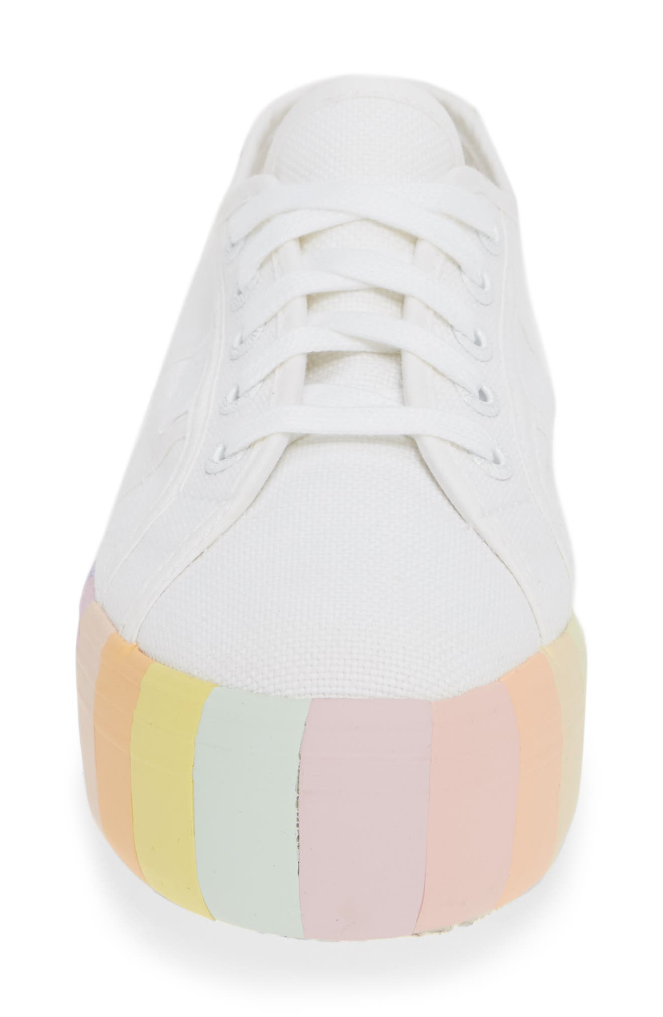 2790 Stripe Platform Sneaker,                             Alternate thumbnail 4, color,                             MULTI