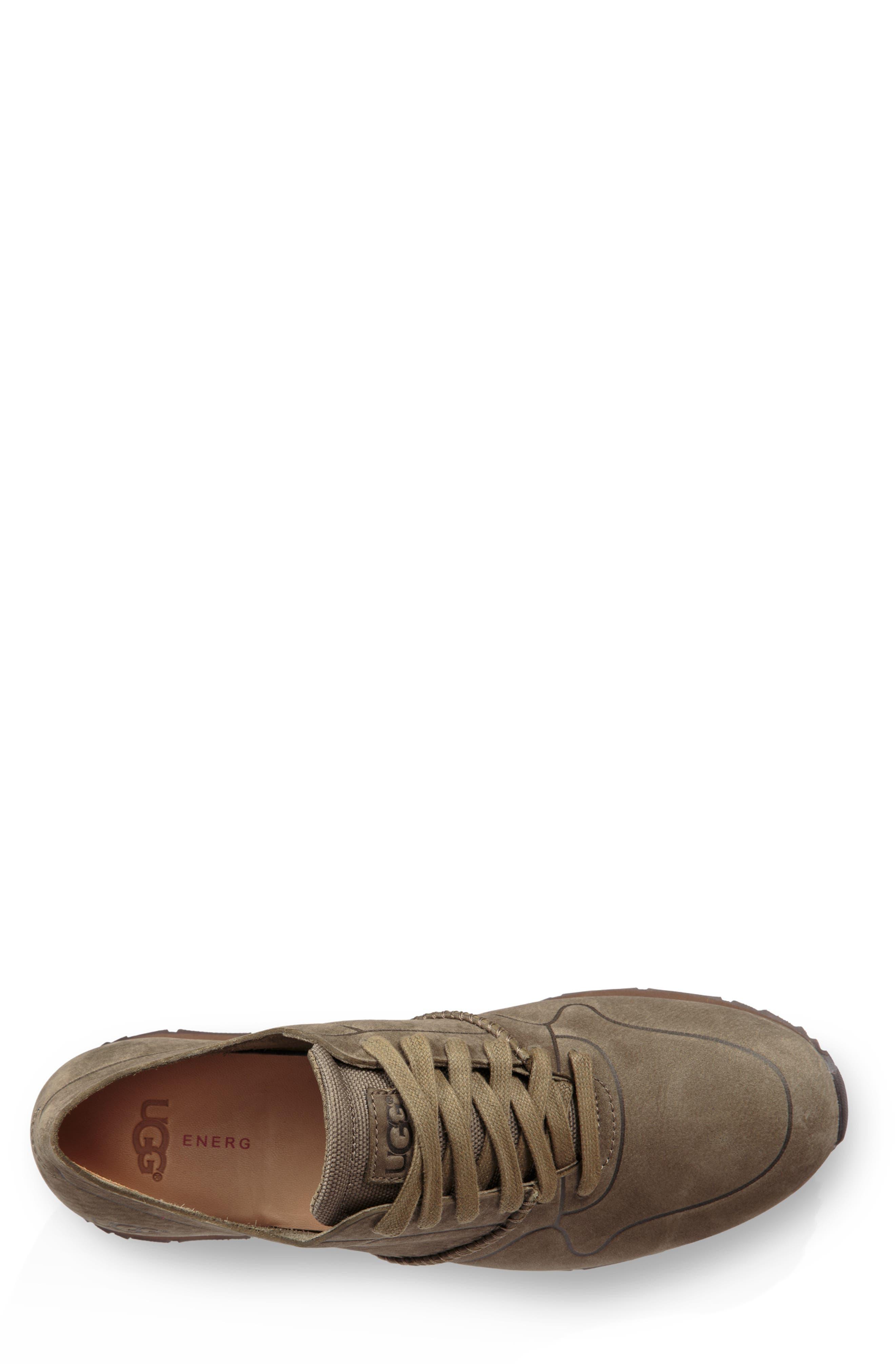 Trigo Unlined Sneaker,                             Alternate thumbnail 4, color,                             MOSS GREEN