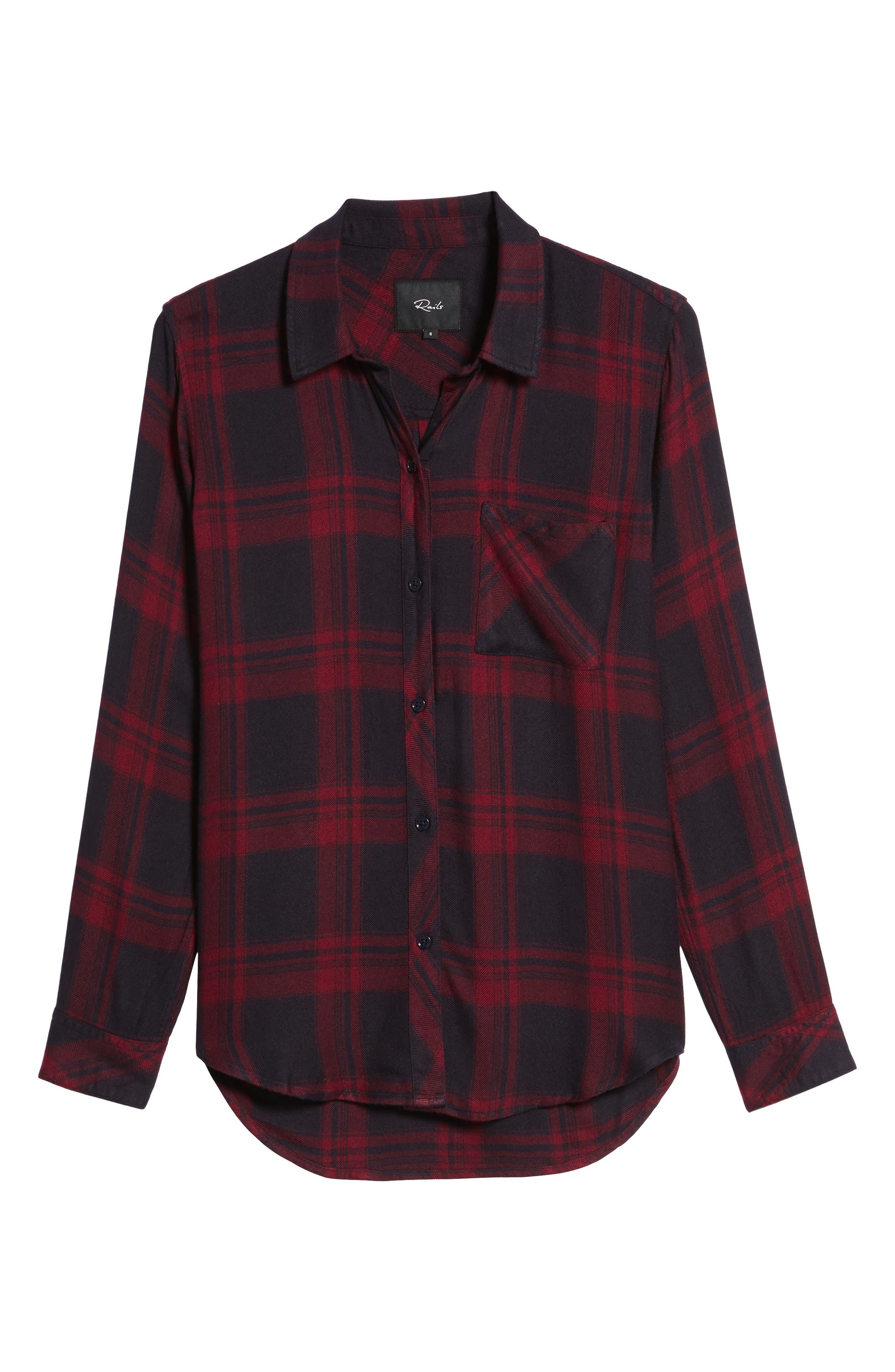 Hunter Plaid Shirt,                             Alternate thumbnail 690, color,
