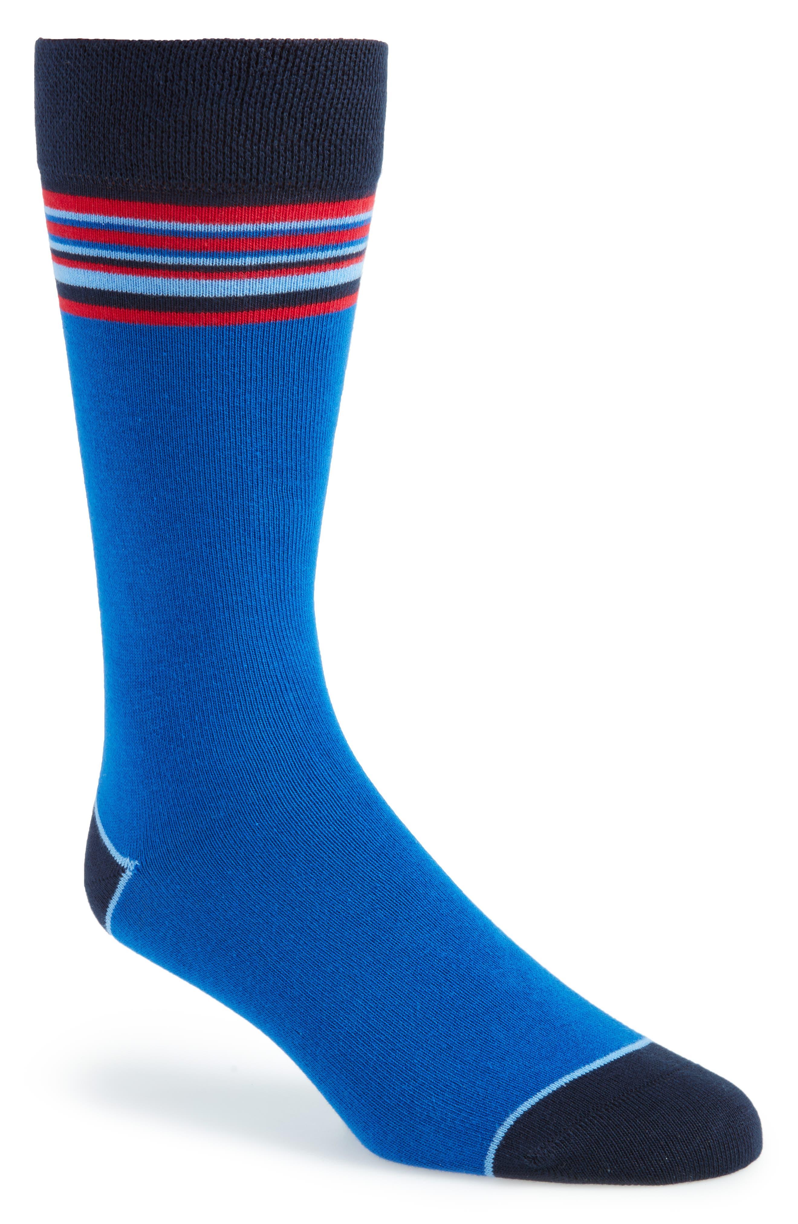 Striped Socks,                         Main,                         color, 421