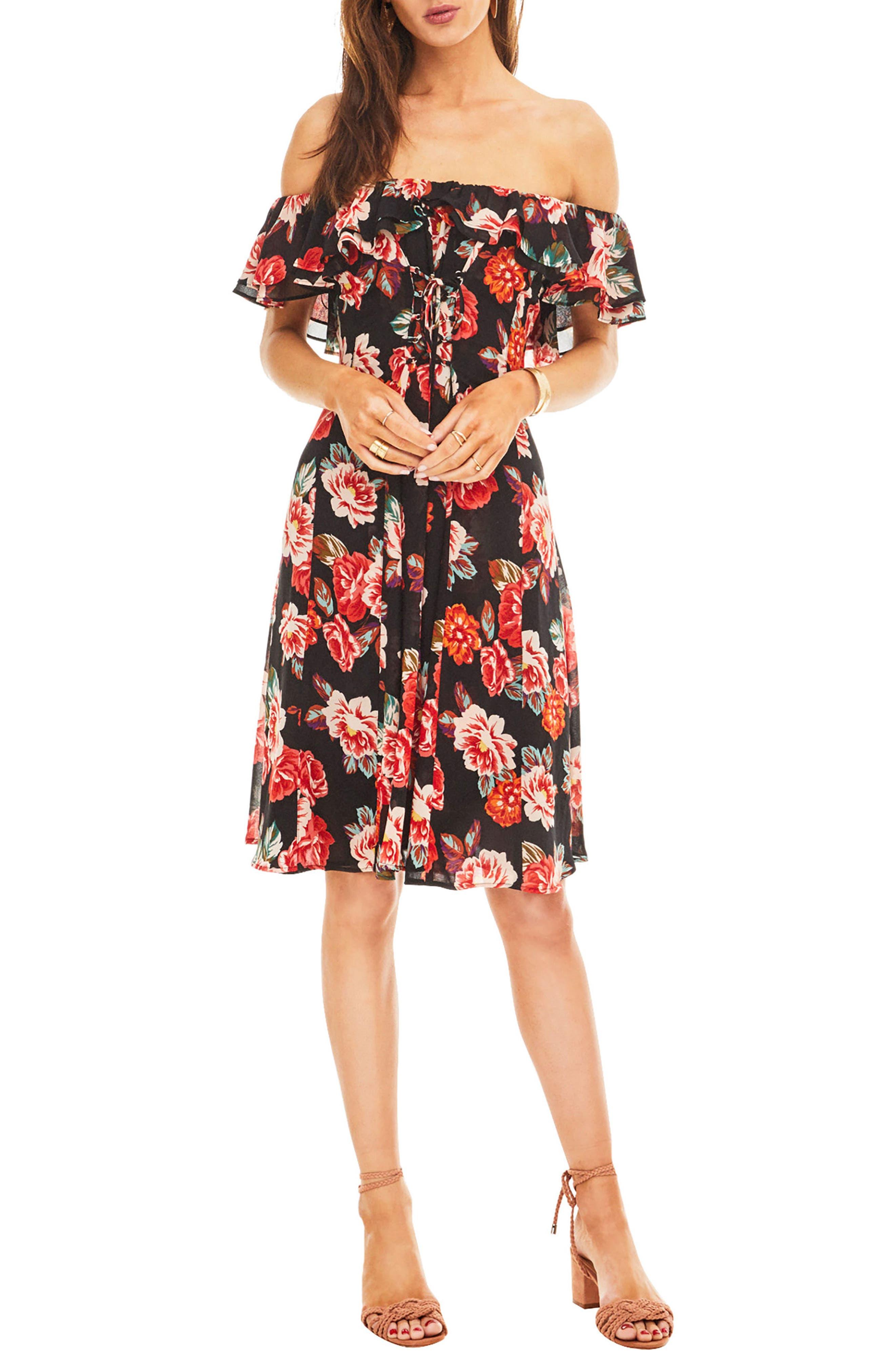 Cassidy Dress,                         Main,                         color, 001