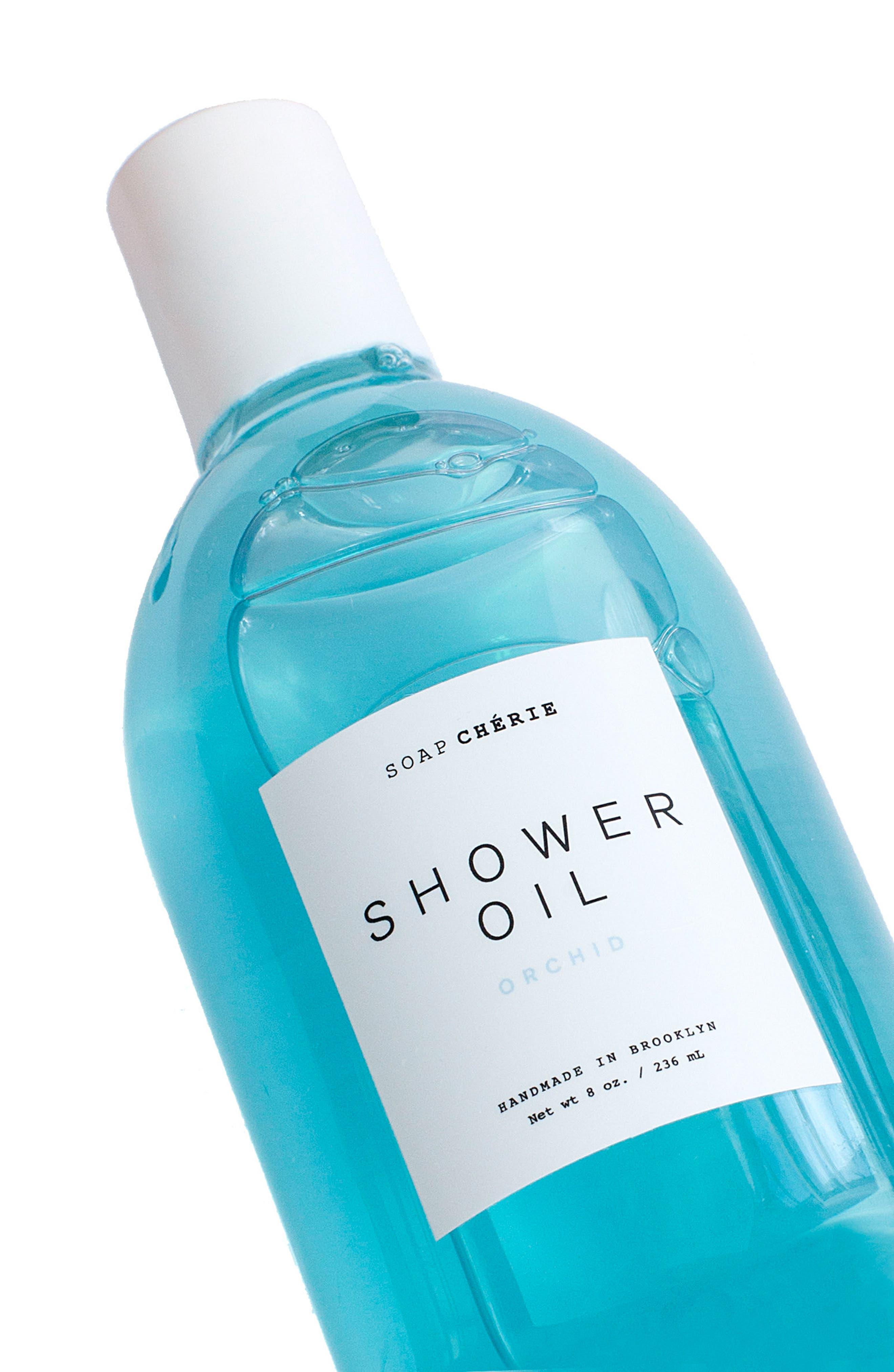Soap Chérie Luxurious Shower Oil,                             Alternate thumbnail 2, color,                             ORCHID