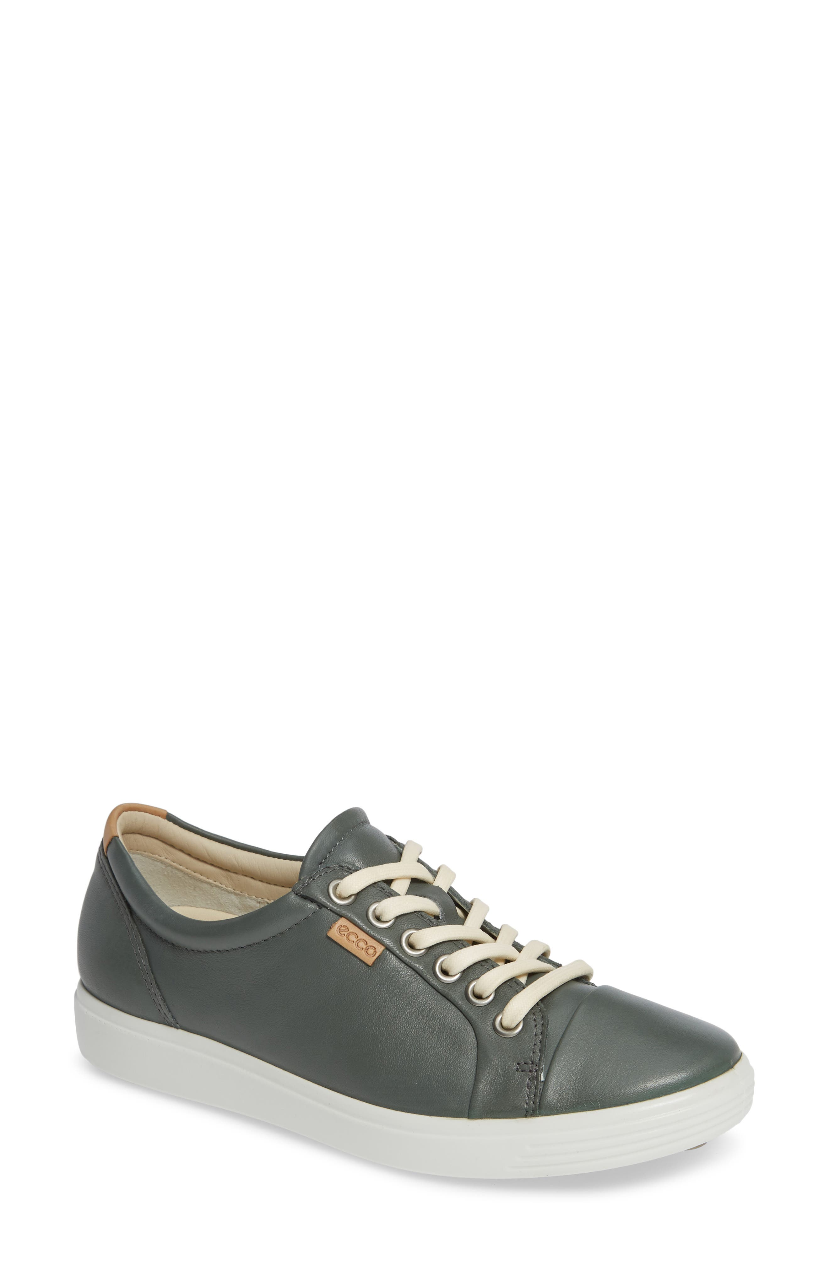 Soft 7 Sneaker,                         Main,                         color, MOON LEATHER