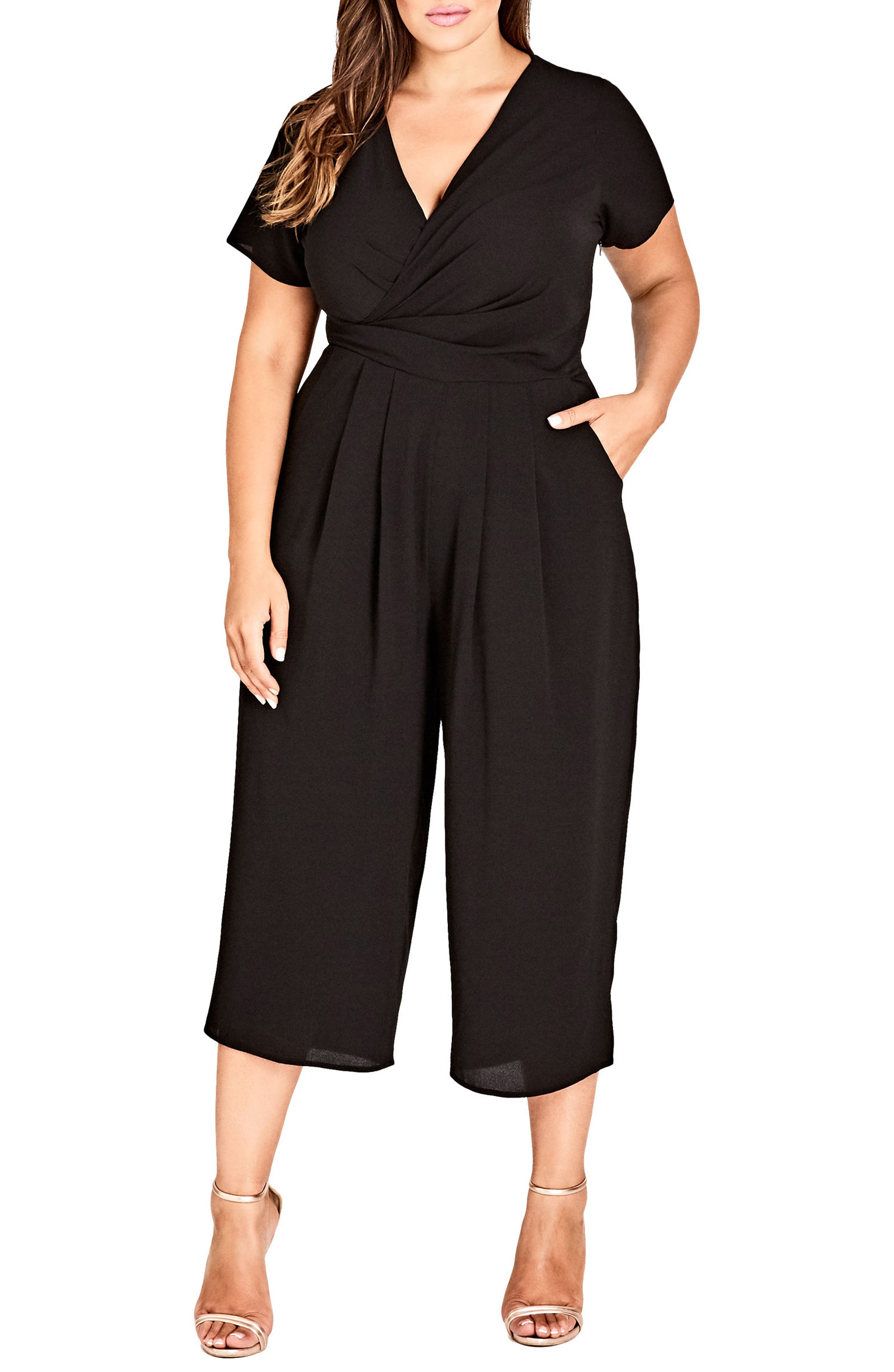 Asplice Jumpsuit,                         Main,                         color, BLACK