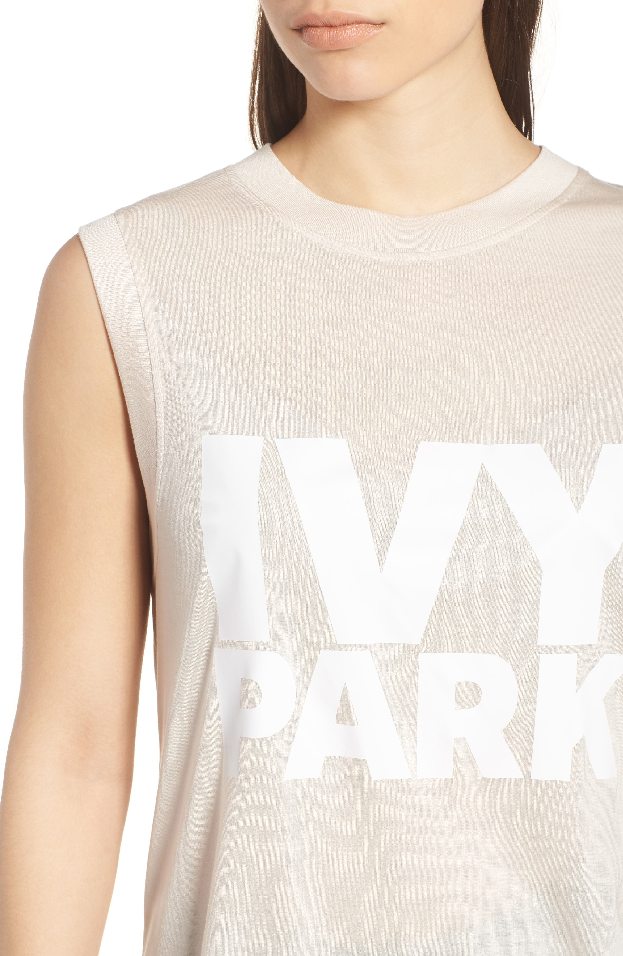 IVY PARK<SUP>®</SUP>,                             Logo Tank,                             Alternate thumbnail 4, color,                             270