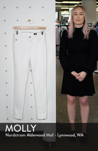 The Mila Super High Waist Ankle Skinny Jeans, sales video thumbnail