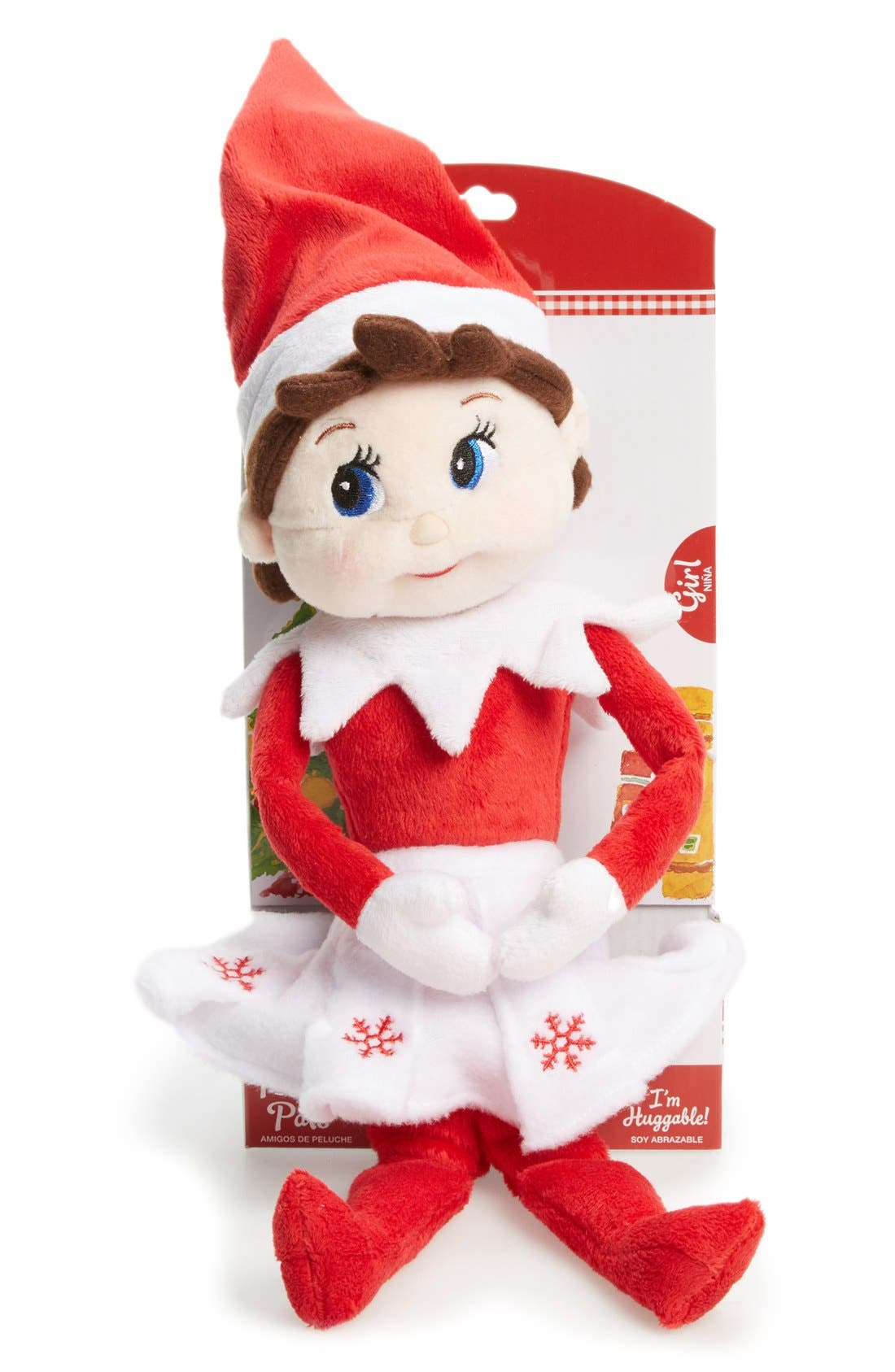 Plushee Pals<sup>®</sup> Girl Scout Elf,                             Main thumbnail 1, color,                             RED