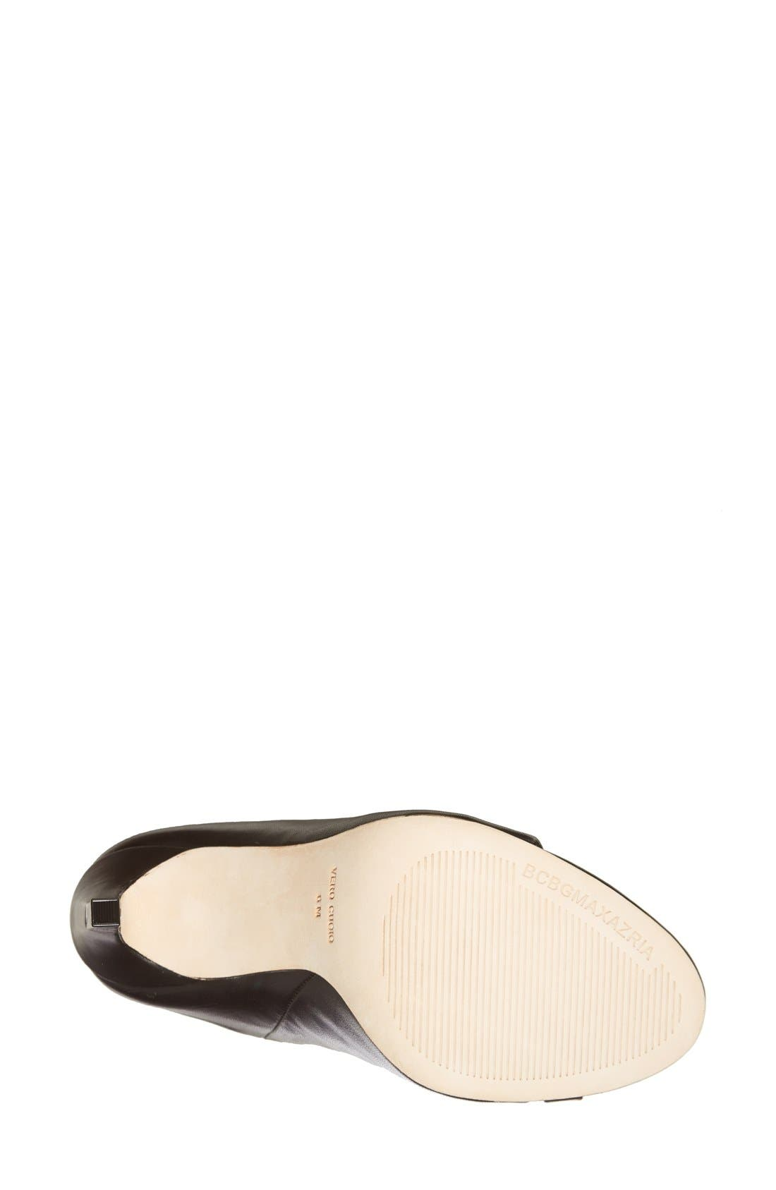 'Dag' Leather Sandal,                             Alternate thumbnail 2, color,                             001