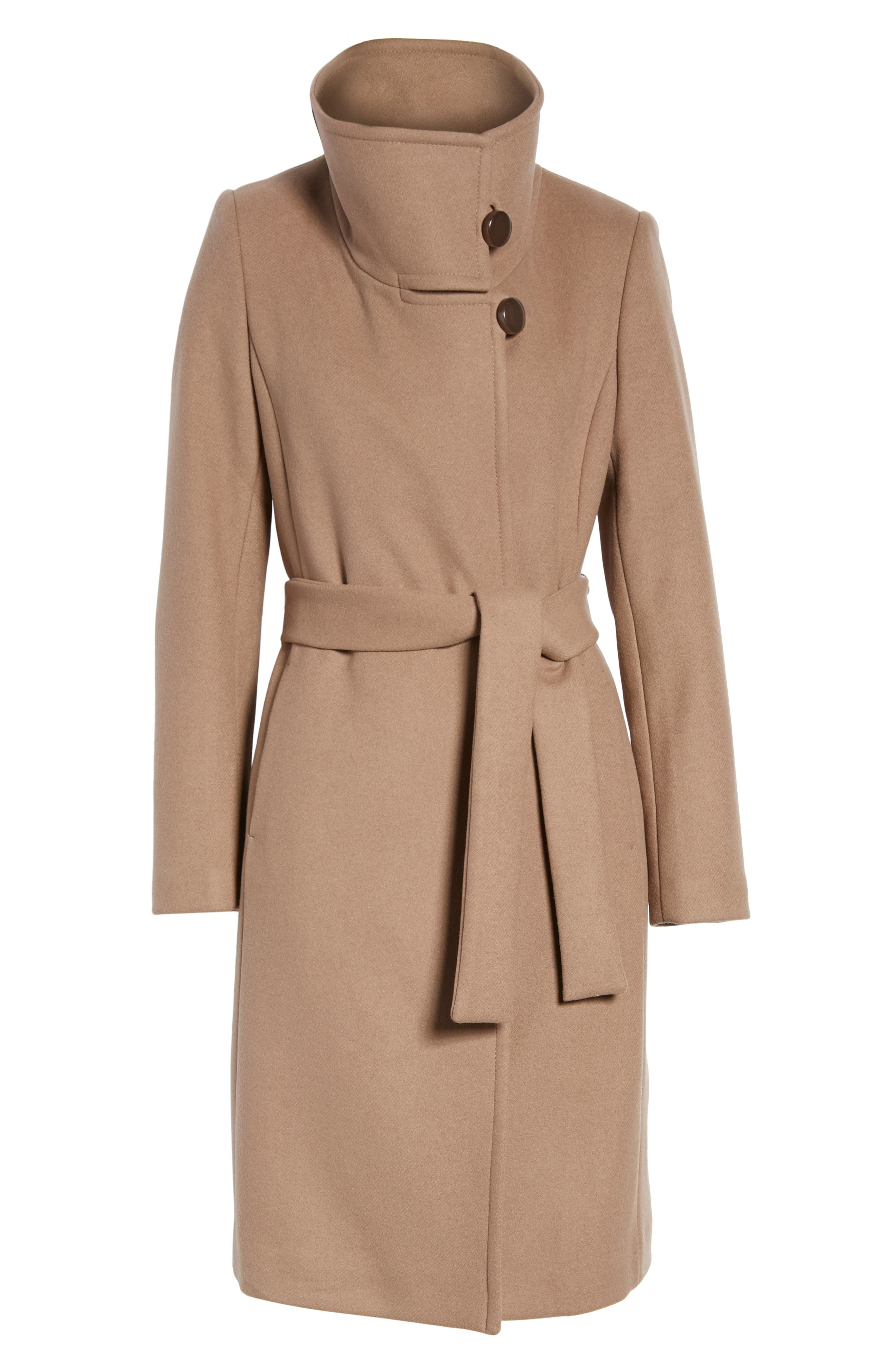 Daphne Oversized Collar Coat,                             Alternate thumbnail 5, color,                             261