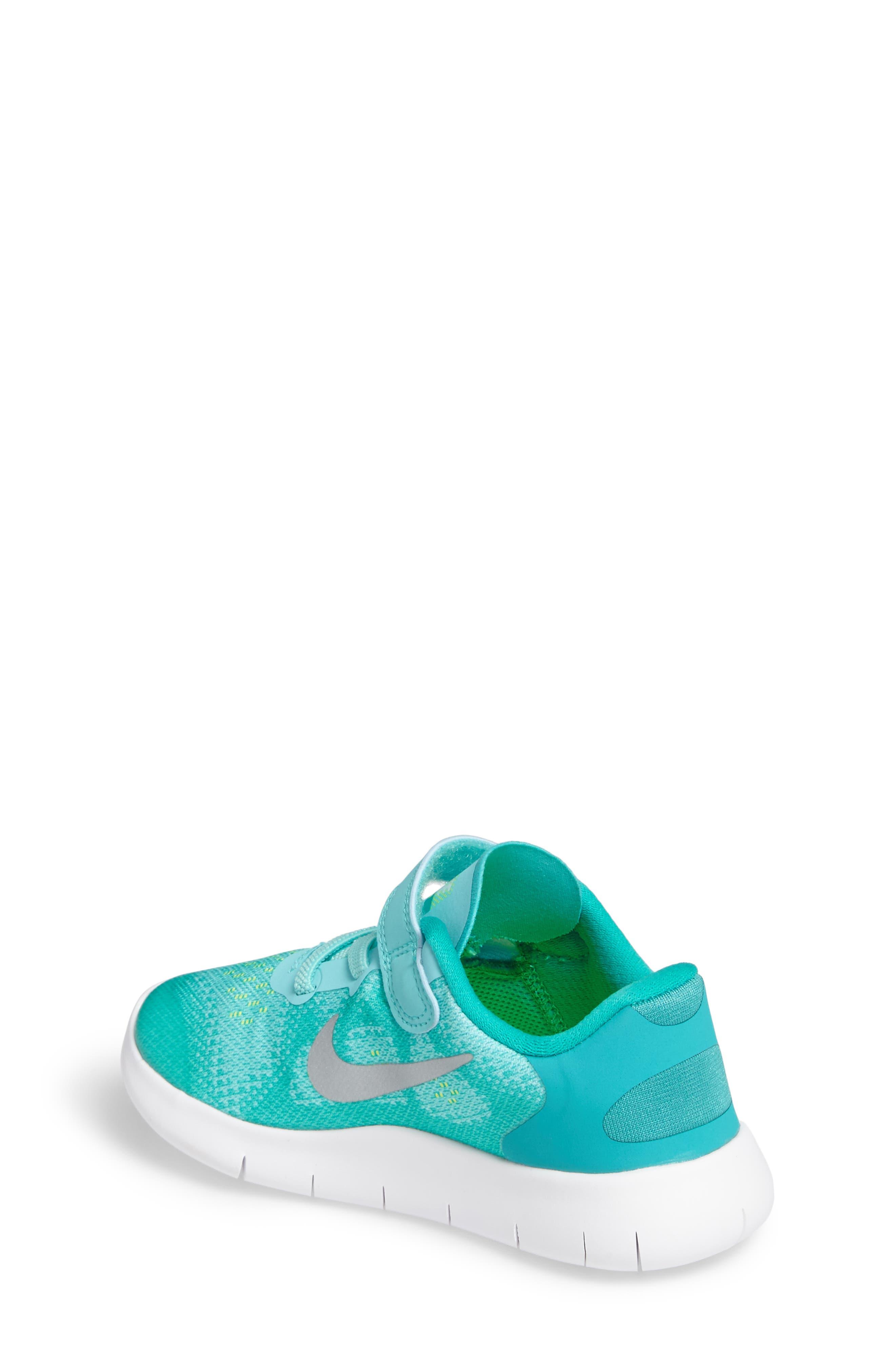 Free Run 2017 Sneaker,                             Alternate thumbnail 8, color,